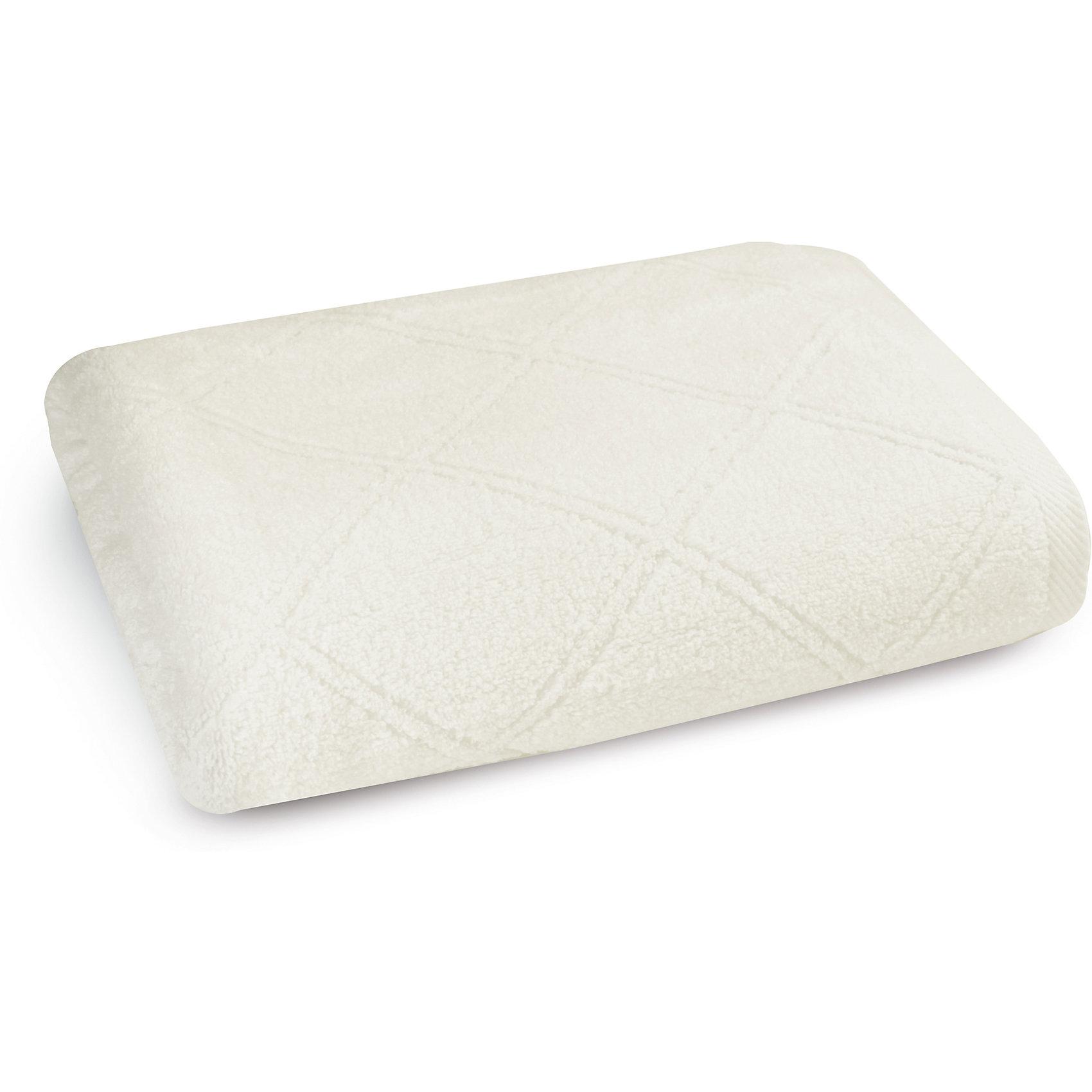 Полотенце махровое 70*140, Cozy Home, белыйВанная комната<br>Полотенце махровое 70*140, Cozy Home (Кози Хоум), белый<br><br>Характеристики:<br><br>• мягкое полотенце, приятное на ощупь<br>• хорошо впитывает влагу<br>• легко стирать<br>• материал: хлопок<br>• размер: 70х140 см<br>• цвет: белый<br><br>Мягкое и качественное полотенце - залог вашего комфорта. Махровое полотенце от Cozy Home создано из мягкого качественного хлопка. Хлопок хорошо впитывает влагу, не позволяя микробам и бактериям образовываться на поверхности. К тому же, полотенце не меняет свой вид и сохраняет свойства даже после многочисленных стирок. Дизайн полотенца - однотонная расцветка с узором из ромбов. Он прекрасно впишется в интерьер любой ванной комнаты.<br><br>Полотенце махровое 70*140, Cozy Home (Кози Хоум), белый вы можете купить в нашем интернет-магазине.<br><br>Ширина мм: 150<br>Глубина мм: 350<br>Высота мм: 150<br>Вес г: 350<br>Возраст от месяцев: 0<br>Возраст до месяцев: 216<br>Пол: Унисекс<br>Возраст: Детский<br>SKU: 5355314