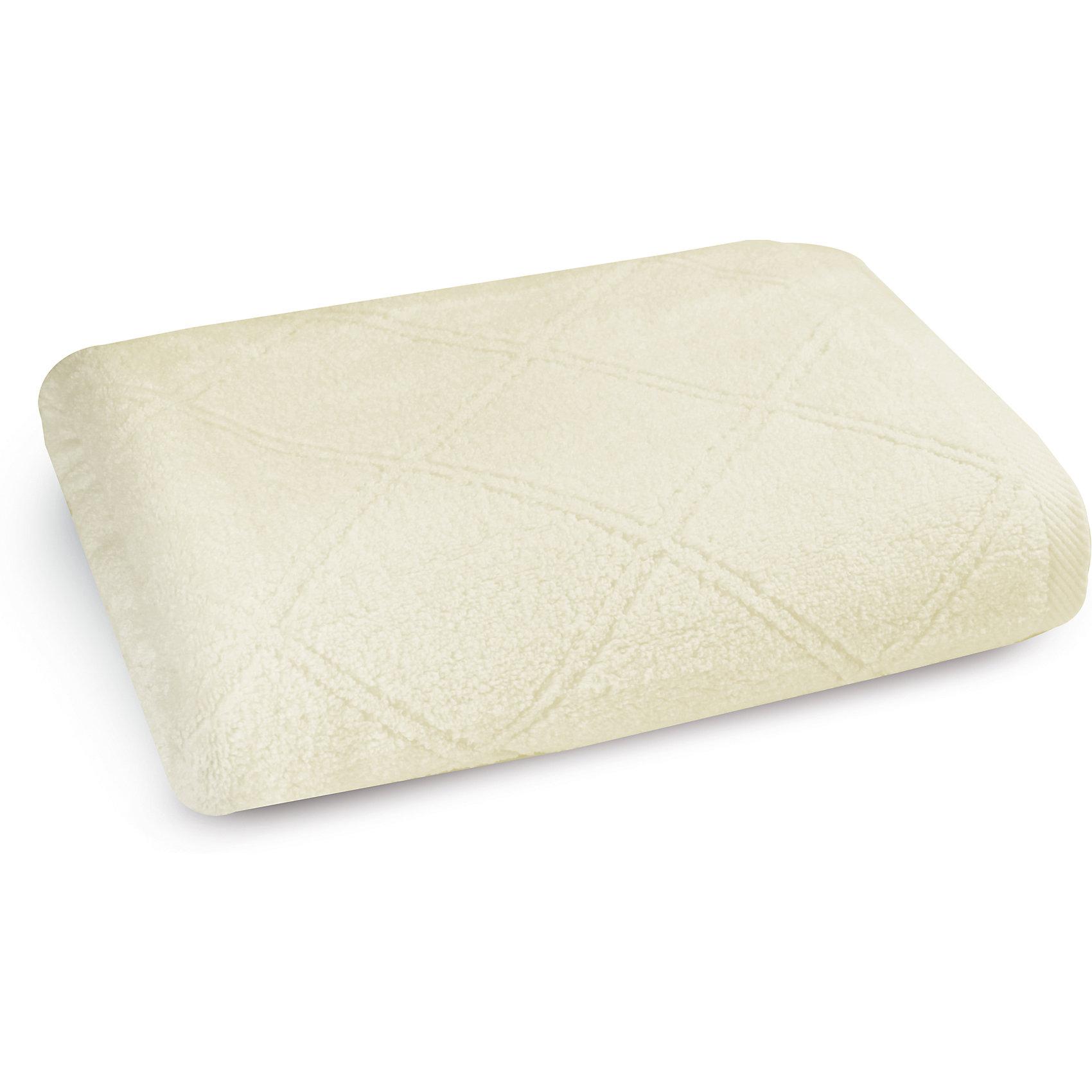 Полотенце махровое 70*140, Cozy Home, молочныйВанная комната<br>Полотенце махровое 70*140, Cozy Home (Кози Хоум), молочный<br><br>Характеристики:<br><br>• мягкое полотенце, приятное на ощупь<br>• хорошо впитывает влагу<br>• легко стирать<br>• материал: хлопок<br>• размер: 70х140 см<br>• цвет: молочный<br><br>Мягкое и качественное полотенце - залог вашего комфорта. Махровое полотенце от Cozy Home создано из мягкого качественного хлопка. Хлопок хорошо впитывает влагу, не позволяя микробам и бактериям образовываться на поверхности. К тому же, полотенце не меняет свой вид и сохраняет свойства даже после многочисленных стирок. Дизайн полотенца - однотонная расцветка с узором из ромбов. Он прекрасно впишется в интерьер любой ванной комнаты.<br><br>Полотенце махровое 70*140, Cozy Home (Кози Хоум), молочный вы можете купить в нашем интернет-магазине.<br><br>Ширина мм: 150<br>Глубина мм: 350<br>Высота мм: 150<br>Вес г: 350<br>Возраст от месяцев: 0<br>Возраст до месяцев: 216<br>Пол: Унисекс<br>Возраст: Детский<br>SKU: 5355321
