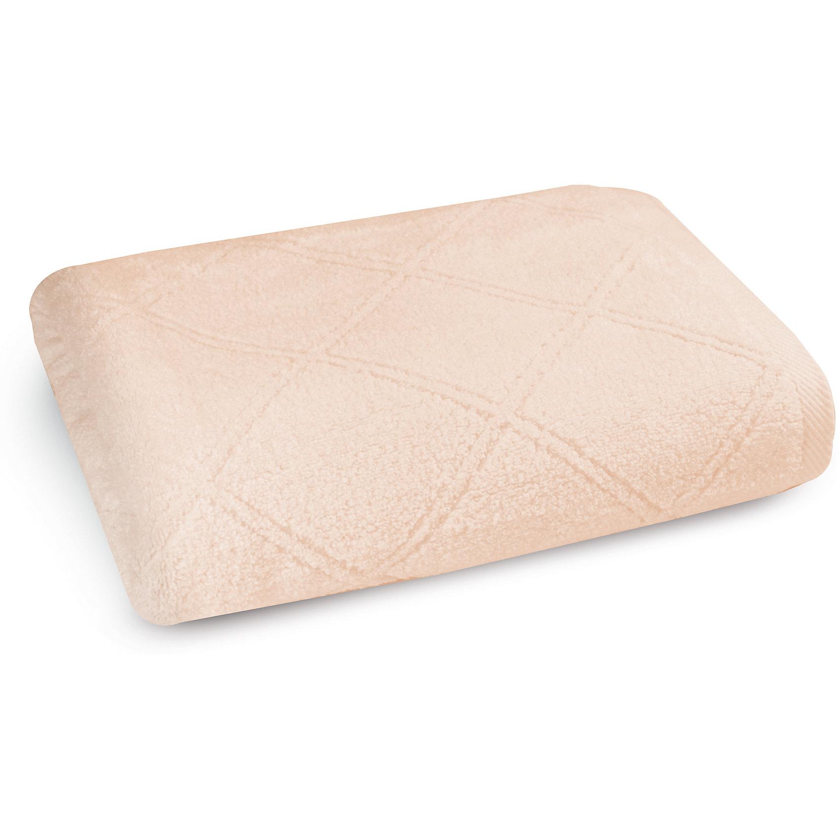 Полотенце махровое 70*140, Cozy Home, персикПолотенце махровое 70*140, Cozy Home (Кози Хоум), персик<br><br>Характеристики:<br><br>• мягкое полотенце, приятное на ощупь<br>• хорошо впитывает влагу<br>• легко стирать<br>• материал: хлопок<br>• размер: 70х140 см<br>• цвет: персик<br><br>Мягкое и качественное полотенце - залог вашего комфорта. Махровое полотенце от Cozy Home создано из мягкого качественного хлопка. Хлопок хорошо впитывает влагу, не позволяя микробам и бактериям образовываться на поверхности. К тому же, полотенце не меняет свой вид и сохраняет свойства даже после многочисленных стирок. Дизайн полотенца - однотонная расцветка с узором из ромбов. Он прекрасно впишется в интерьер любой ванной комнаты.<br><br>Полотенце махровое 70*140, Cozy Home (Кози Хоум), персиковый вы можете купить в нашем интернет-магазине.<br><br>Ширина мм: 150<br>Глубина мм: 350<br>Высота мм: 150<br>Вес г: 350<br>Возраст от месяцев: 0<br>Возраст до месяцев: 216<br>Пол: Унисекс<br>Возраст: Детский<br>SKU: 5355322