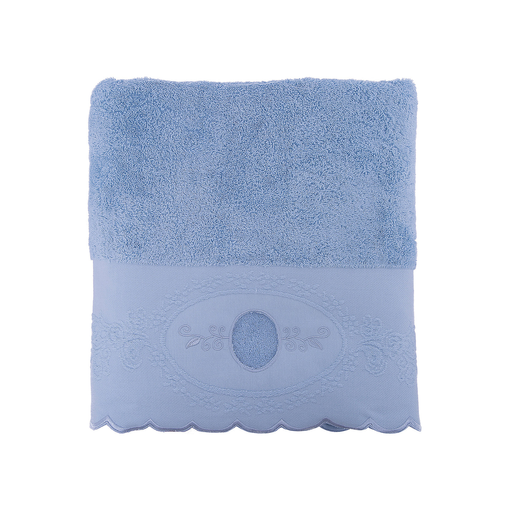 Полотенце махровое 70*140 Жаклин, Cozy Home, голубойВанная комната<br>Полотенце махровое 70*140 Жаклин, Cozy Home (Кози Хоум), голубой<br><br>Характеристики:<br><br>• хорошо впитывает влагу<br>• изысканный дизайн<br>• материал: хлопок<br>• размер: 70х140 см<br>• цвет: голубой<br><br>Махровое полотенце Жаклин от cozy home - для самых взыскательных ценителей красивого и качественного текстиля. Полотенце хорошо впитывает влагу, даря мягкость и уют. Хлопковые волокна не вызывают раздражения даже на чувствительной коже и обладают антимикробными свойствами. Каждая хозяйка будет рада простому уходу за полотенцем. Оно хорошо отстирывается при температуре 40°С, практически не мнется. Благодаря роскошному дизайну, полотенце можно преподнести в подарок. Волнистые края полотенца декорированы прекрасным узором в итальянском стиле и дополнены вышивкой.<br><br>Полотенце махровое 70*140 Жаклин, Cozy Home (Кози Хоум), голубой вы можете купить в нашем интернет-магазине.<br><br>Ширина мм: 150<br>Глубина мм: 350<br>Высота мм: 150<br>Вес г: 350<br>Возраст от месяцев: 0<br>Возраст до месяцев: 216<br>Пол: Унисекс<br>Возраст: Детский<br>SKU: 5355328