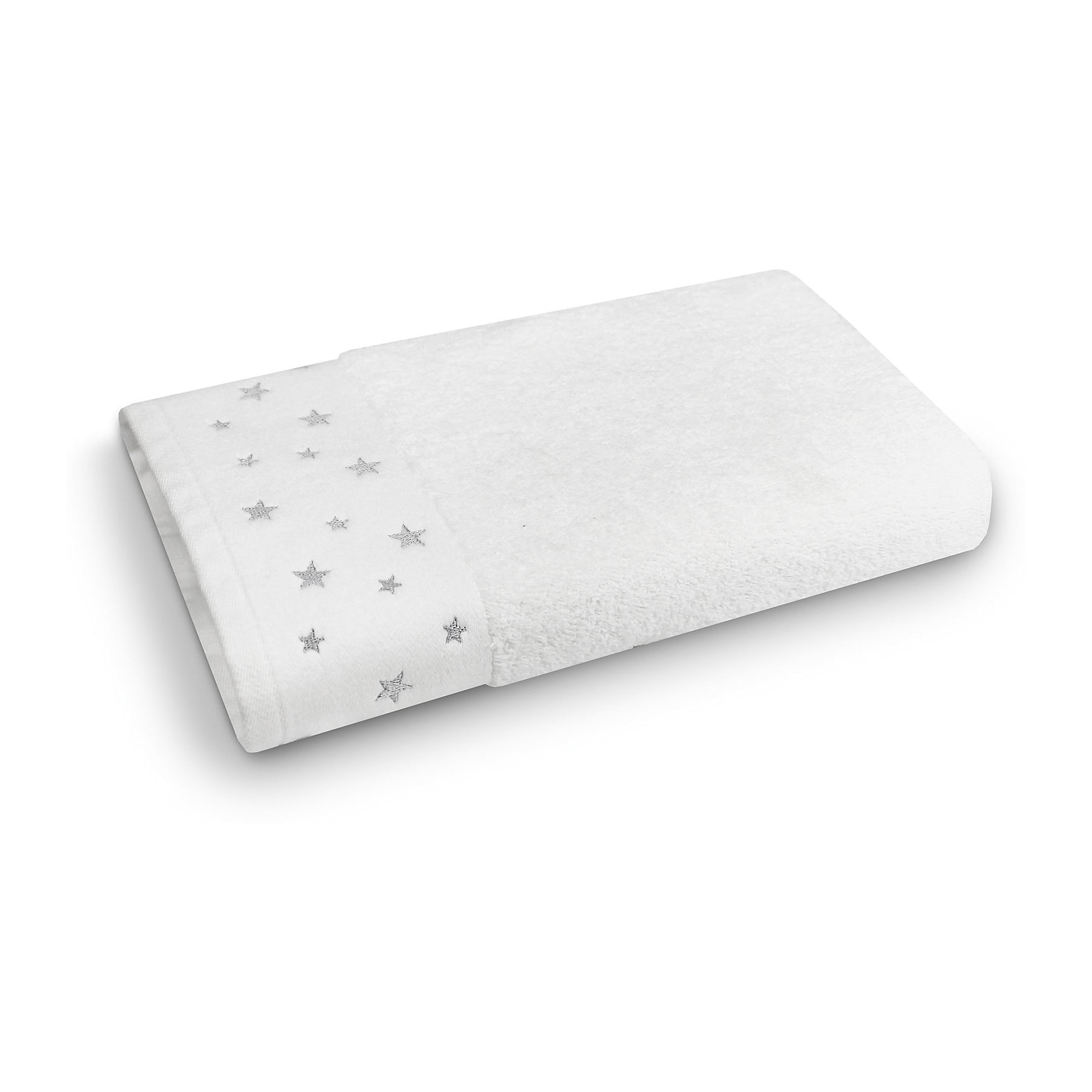 Полотенце махровое 70*140 Звездопад, Cozy Home, белыйВанная комната<br>Полотенце махровое 70*140 Звездопад, Cozy Home (Кози Хоум), белый<br><br>Характеристики:<br><br>• хорошо впитывает влагу<br>• изысканный дизайн<br>• материал: хлопок<br>• размер: 70х140 см<br>• цвет: белый<br><br>Банное полотенце Звездопад от Cozy Home понравится всем. Края полотенца украшены блестящими звездочками, которые особенно приглянутся детям. Само полотенце изготовлено из мягкого хлопка. Хлопок не вызовет раздражения на нежной и чувствительной коже, быстро впитает большое количество влаги и быстро высохнет. Что немаловажно, полотенце сохраняет свой цвет и размер даже после многочисленных стирок при температуре 40°С. Полотенце станет прекрасным подарком!<br><br>Полотенце махровое 70*140 Звездопад, Cozy Home (Кози Хоум), белый вы можете купить в нашем интернет-магазине.<br><br>Ширина мм: 150<br>Глубина мм: 350<br>Высота мм: 150<br>Вес г: 350<br>Возраст от месяцев: 0<br>Возраст до месяцев: 216<br>Пол: Унисекс<br>Возраст: Детский<br>SKU: 5355330