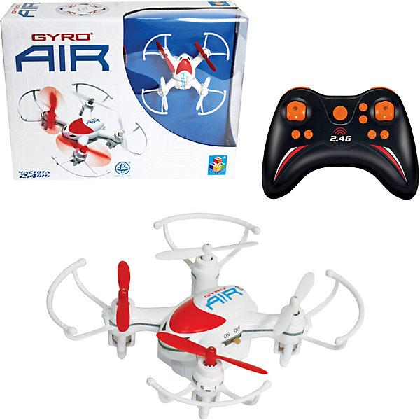 Квадрокоптер GYRO-Air ,  2,4GHz, 4 канала, возвращается, программируемый маршрут, 1toyСамолёты и вертолёты<br>Характеристики:<br><br>• Вид игр: сюжетно-ролевые<br>• Пол: для мальчиков<br>• Предназначен: для игр на улице, дома<br>• Материал: пластик, металл<br>• Размер квадрокоптера: 8*8 см<br>• Комплектация: квадрокоптер, джойстик, 2 запасные лопасти<br>• Батарейки для джойстика: 4 шт. типа АА (в комплекте не предусмотрены)<br>• Предусмотены 2 скоростных режима<br>• Функция автоматического возвращения в сторону пилота<br>• Программируемый план полета<br>• Радиус действия: до 30 м<br>• Свободный полет: до 8 минут<br>• Время полной зарядки: до 40 минут<br>• Тип зарядного устройства: USB-кабель<br>• Вес упаковки: 550 г<br>• Размеры упаковки (Г*Ш*В): 21*6*16 см<br>• Упаковка: картонная коробка <br><br>Квадрокоптер GYRO-Air, 2,4GHz, 4 канала, возвращается, программируемый маршрут, 1toy  от отечественного торгового бренда предназначен для игр как на улице, так и дома. Игрушечный квадрокоптер представляет собой летательный аппарат, оснащенный четырьмя пропеллерами, управление которым осуществляется за счет джойстика. Дальность действия сигнала составляет до 30 метров, благодаря чему с квадрокоптером будет особенно интересно играть на улице. У игрушки предусмотрены 2 скоростных режима, функция возврата к пилоту. Встроенный гироскоп позволяет стабилизировать положение летательного аппарата в воздухе. Все детали выполнены из безопасного и прочного пластика, устойчивого к повреждениям. Квадрокоптер GYRO-Air, 2,4GHz, 4 канала, возвращается, программируемый маршрут, 1toy станет прекрасным подарком для детей, увлекающихся моделированием летательных аппаратов!<br><br>Квадрокоптер GYRO-Air, 2,4GHz, 4 канала, возвращается, программируемый маршрут, 1toy можно купить в нашем интернет-магазине.<br><br>Ширина мм: 215<br>Глубина мм: 160<br>Высота мм: 65<br>Вес г: 292<br>Возраст от месяцев: 60<br>Возраст до месяцев: 192<br>Пол: Мужской<br>Возраст: Детский<br>SKU: 5355528