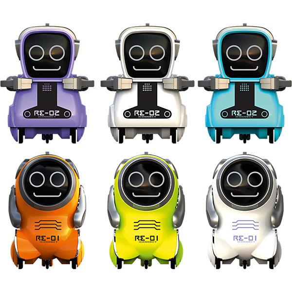 Робот Покибот (Pokibot), SilverlitРоботы<br><br><br>Ширина мм: 158<br>Глубина мм: 118<br>Высота мм: 63<br>Вес г: 119<br>Возраст от месяцев: 36<br>Возраст до месяцев: 84<br>Пол: Унисекс<br>Возраст: Детский<br>SKU: 5356479