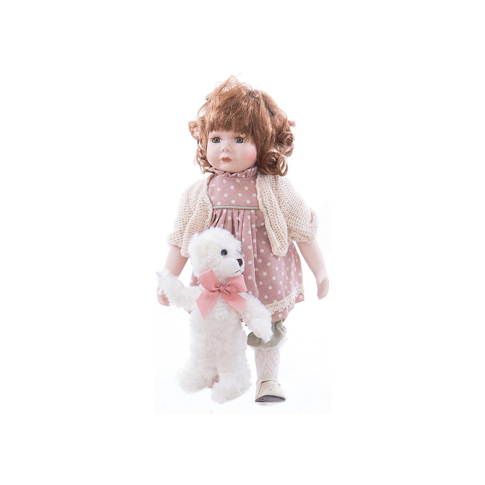 Интерьерная кукла Девочка с мишкой C21-148612, EstroПредметы интерьера<br>Характеристики интерьерной куклы:<br><br>- габариты предмета: 15 *35 * 9.5 см<br>- персонаж: девочка, медведь<br>- вид упаковки: коробка<br>- возрастные ограничения: 3+<br>- состав: дерево, полиэстер, текстиль, полиэфир<br>- комплектация: игрушка - 2 шт.<br>- страна бренда: Италия<br>- страна производитель: Китай<br><br>Интерьерная кукла девочка в розовом платье с каштановыми волосами с белым мишкой изготовлена из лучших материалов приятных цветов. Дизайн куклы тщательно выверен. Все части аккуратно подогнаны и отлично смотрятся друг с другом. Выбранная модель станет хорошим приобретением для себя или подарком близкой подруге. Куклы торговой марки Estro с легкостью дополнят любой интерьер.<br><br>Интерьерную куклу девочка с медвежонком итальянской торговой марки Estro можно купить в нашем интернет-магазине.<br><br>Ширина мм: 150<br>Глубина мм: 150<br>Высота мм: 350<br>Вес г: 733<br>Возраст от месяцев: 36<br>Возраст до месяцев: 1188<br>Пол: Женский<br>Возраст: Детский<br>SKU: 5356608