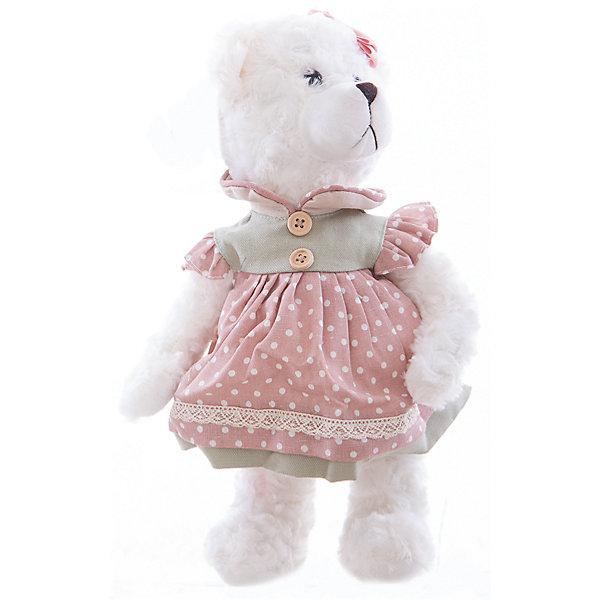 Интерьерная кукла Мишка C21-148615, EstroДетские предметы интерьера<br>Характеристики интерьерной куклы:<br><br>- материал: плюшевые<br>- размеры: 25*30*35 см<br>- бренд: Estro<br>- состав: дерево, полиэстер, текстиль, полиэфир<br>- тип игрушки: животные, мягкая игрушка<br>- персонаж: медведь<br>- вид упаковки: коробка<br>- возрастные ограничения: 3+<br>- страна бренда: Италия<br>- страна производитель: Китай<br>- комплектация: игрушка<br><br>Это не просто дизайнерская игрушка, а интерьерная кукла ручной работы в виде белого мишки, которая прекрасно впишется в самый изысканный и стильный интерьер и идеально подойдет под Ваши новые шторы или станет прекрасным подарком для любого случая. <br><br>Интерьерную куклу медвежонок итальянской торговой марки Estro можно купить в нашем интернет-магазине.<br><br>Ширина мм: 150<br>Глубина мм: 150<br>Высота мм: 350<br>Вес г: 323<br>Возраст от месяцев: 36<br>Возраст до месяцев: 1188<br>Пол: Женский<br>Возраст: Детский<br>SKU: 5356609