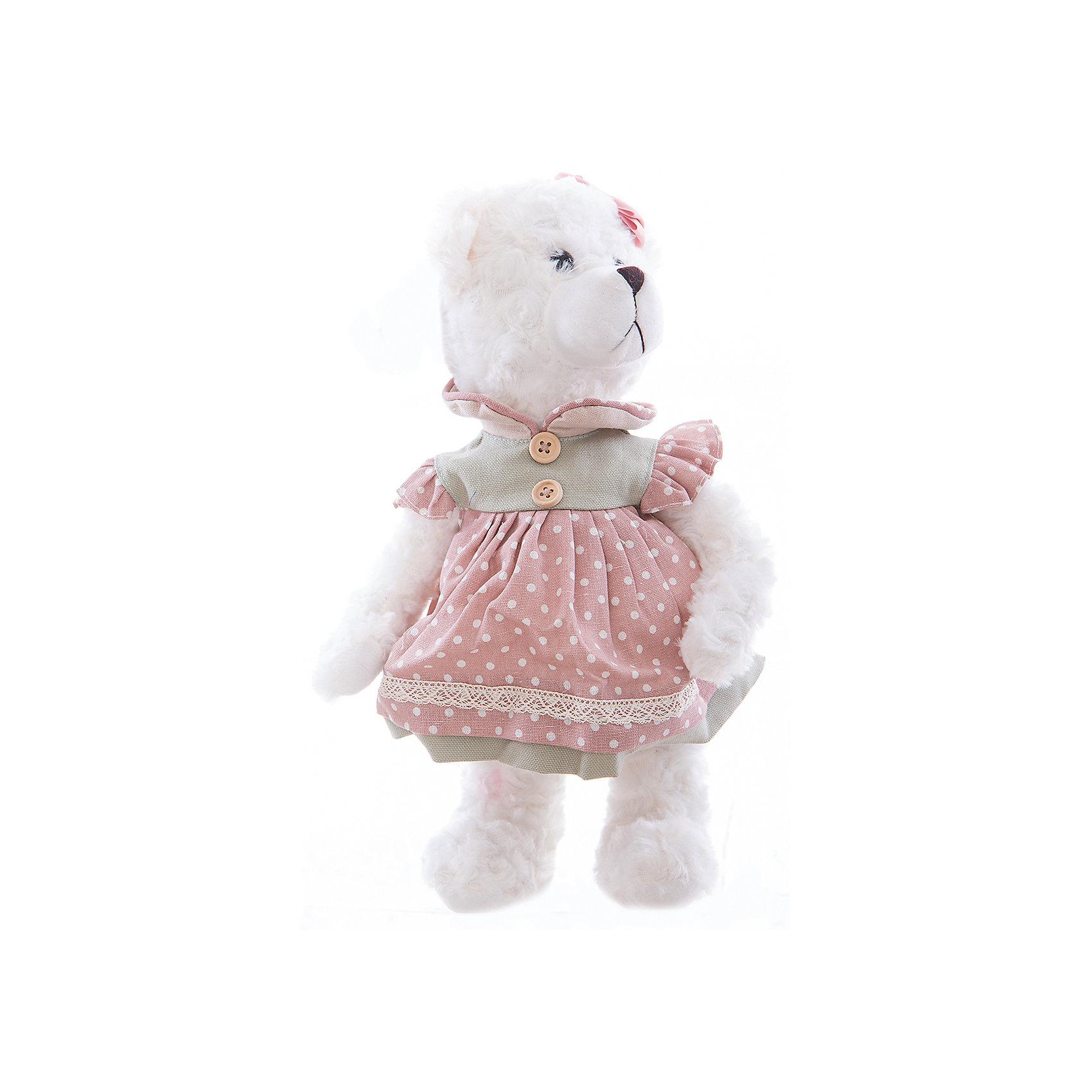 Интерьерная кукла Мишка C21-148615, EstroПредметы интерьера<br>Характеристики интерьерной куклы:<br><br>- материал: плюшевые<br>- размеры: 25*30*35 см<br>- бренд: Estro<br>- состав: дерево, полиэстер, текстиль, полиэфир<br>- тип игрушки: животные, мягкая игрушка<br>- персонаж: медведь<br>- вид упаковки: коробка<br>- возрастные ограничения: 3+<br>- страна бренда: Италия<br>- страна производитель: Китай<br>- комплектация: игрушка<br><br>Это не просто дизайнерская игрушка, а интерьерная кукла ручной работы в виде белого мишки, которая прекрасно впишется в самый изысканный и стильный интерьер и идеально подойдет под Ваши новые шторы или станет прекрасным подарком для любого случая. <br><br>Интерьерную куклу медвежонок итальянской торговой марки Estro можно купить в нашем интернет-магазине.<br><br>Ширина мм: 150<br>Глубина мм: 150<br>Высота мм: 350<br>Вес г: 323<br>Возраст от месяцев: 36<br>Возраст до месяцев: 1188<br>Пол: Женский<br>Возраст: Детский<br>SKU: 5356609