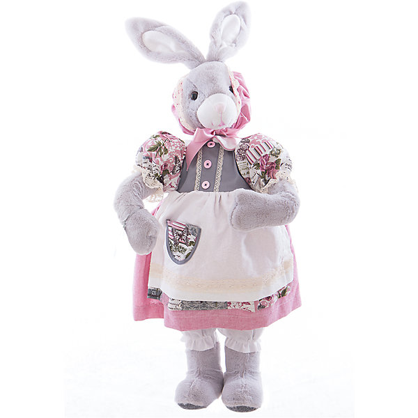 Интерьерная кукла Зайчик C21-288048, EstroДетские предметы интерьера<br>Характеристики интерьерной куклы:<br><br>- габариты предмета: 40*12*18 см<br>- тип игрушки: животные, мягкая игрушка<br>- персонаж: заяц<br>- вид упаковки: коробка<br>- возрастные ограничения: 3+<br>- состав: полиэстер, пластик, текстиль<br>- стиль: классический, прованс<br>- материал изготовления: высококачественный пластик, полиэстер, ткань<br>- бред: Estro<br>- страна бренда: Италия<br>- страна производитель: Китай<br><br>Кукла – зайчиха придаст неповторимость Вашему интерьеру, принесет уют в Ваш дом. При изготовлении куклы торговой марки Estro применяются только качественные, высококлассные материалы. <br><br>Интерьерную куклу заяц итальянской торговой марки Estro можно купить в нашем интернет-магазине.<br>Ширина мм: 200; Глубина мм: 300; Высота мм: 700; Вес г: 1112; Возраст от месяцев: 36; Возраст до месяцев: 1188; Пол: Женский; Возраст: Детский; SKU: 5356611;