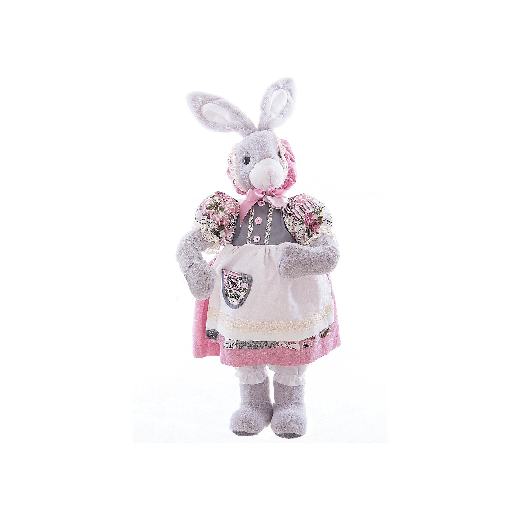 Интерьерная кукла Зайчик C21-288048, EstroПредметы интерьера<br>Характеристики интерьерной куклы:<br><br>- габариты предмета: 40*12*18 см<br>- тип игрушки: животные, мягкая игрушка<br>- персонаж: заяц<br>- вид упаковки: коробка<br>- возрастные ограничения: 3+<br>- состав: полиэстер, пластик, текстиль<br>- стиль: классический, прованс<br>- материал изготовления: высококачественный пластик, полиэстер, ткань<br>- бред: Estro<br>- страна бренда: Италия<br>- страна производитель: Китай<br><br>Кукла – зайчиха придаст неповторимость Вашему интерьеру, принесет уют в Ваш дом. При изготовлении куклы торговой марки Estro применяются только качественные, высококлассные материалы. <br><br>Интерьерную куклу заяц итальянской торговой марки Estro можно купить в нашем интернет-магазине.<br><br>Ширина мм: 200<br>Глубина мм: 300<br>Высота мм: 700<br>Вес г: 1112<br>Возраст от месяцев: 36<br>Возраст до месяцев: 1188<br>Пол: Женский<br>Возраст: Детский<br>SKU: 5356611