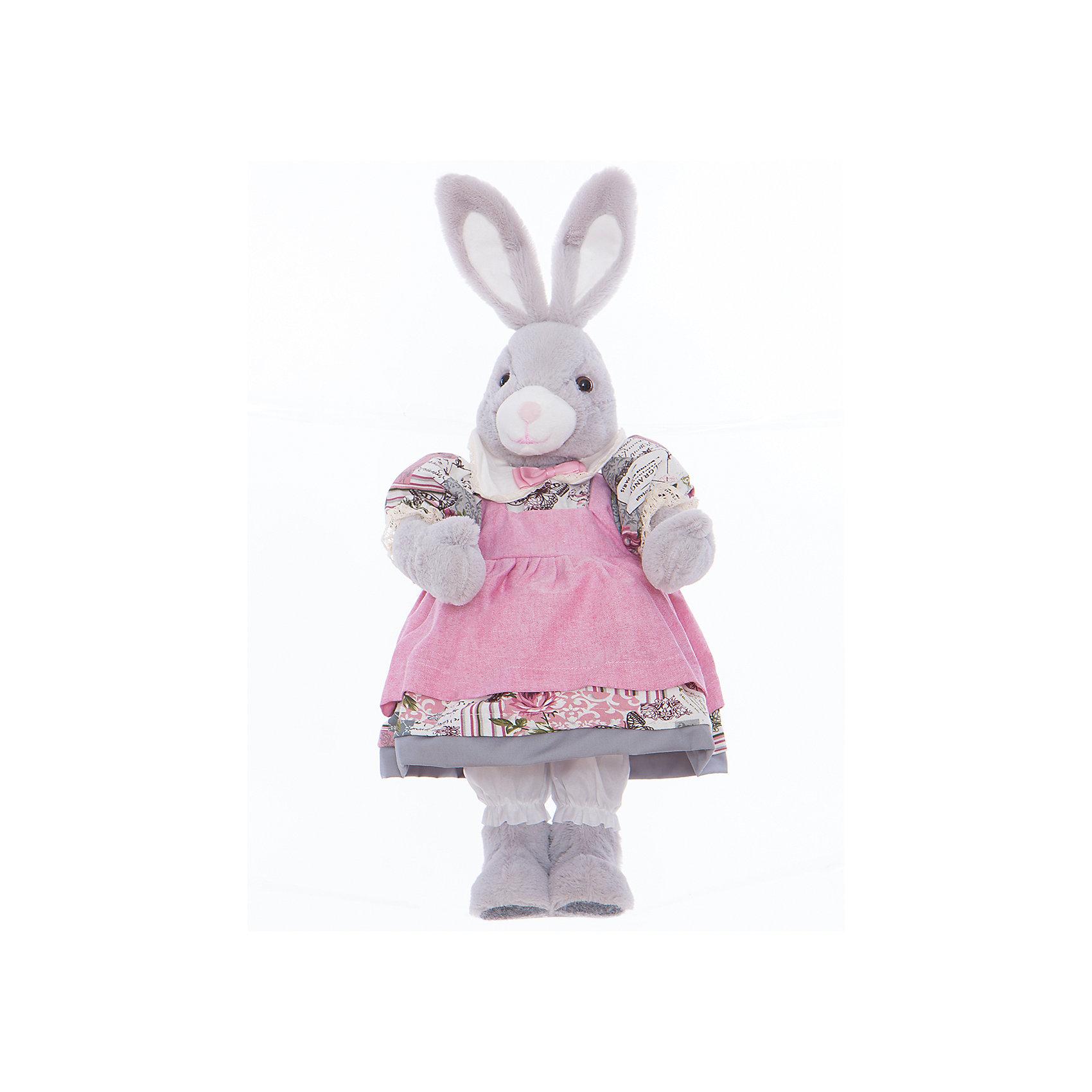 Интерьерная кукла Зайчик C21-228217, EstroПредметы интерьера<br>Характеристики интерьерной куклы:<br><br>- размеры (высота): 55 см <br>- тип игрушки: животные, мягкая игрушка<br>- персонаж: заяц<br>- вид упаковки: коробка<br>- возрастные ограничения: 3+<br>- состав: дерево, полиэстер, текстиль, полиэфир<br>- стиль: классический, прованс<br>- материал изготовления: высококачественный пластик, полиэстер, ткань<br>- бред: Estro<br>- страна бренда: Италия<br>- страна производитель: Китай<br><br>Великолепная интерьерная кукла Зайка итальянской торговой марки Estro станет великолепным вариантом для любой квартиры. Изделие произведено из качественных материалов красивой расцветки. Стиль изделия проработан, учитывая все нюансы. Все составляющие тщательно выбраны и отлично подходят друг к другу. Интерьерная кукла Зайка будет удачной покупкой или подарком семье. <br><br>Интерьерную куклу заяц итальянской торговой марки Estro можно купить в нашем интернет-магазине.<br><br>Ширина мм: 150<br>Глубина мм: 200<br>Высота мм: 550<br>Вес г: 643<br>Возраст от месяцев: 36<br>Возраст до месяцев: 1188<br>Пол: Женский<br>Возраст: Детский<br>SKU: 5356612