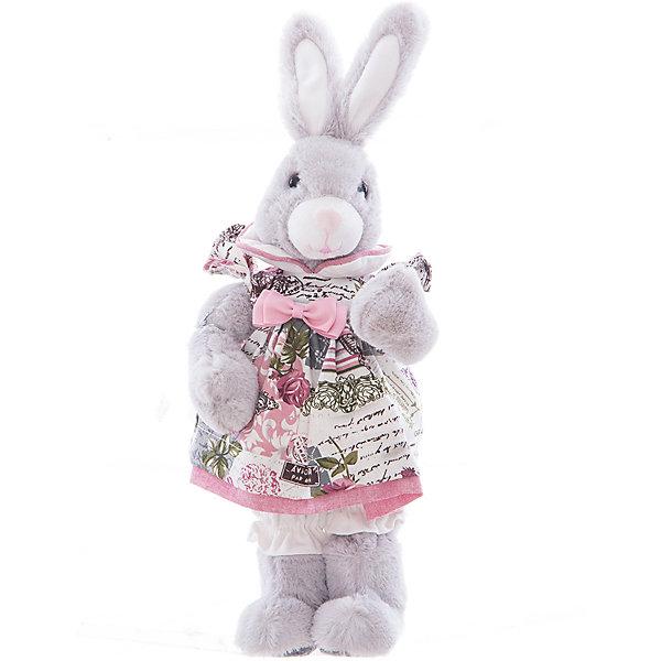 Интерьерная кукла Зайчик C21-168328, EstroДетские предметы интерьера<br>Характеристики интерьерной куклы:<br><br>- комплектация: игрушка<br>- размеры (высота): 18* 40*12 см. <br>- тип игрушки: животные, мягкая игрушка<br>- персонаж: заяц<br>- вид упаковки: коробка<br>- возрастные ограничения: 3+<br>- состав: дерево, полиэстер, текстиль, полиэфир, пластик,<br>- стиль: классический, прованс<br>- материал изготовления: высококачественный пластик, полиэстер, ткань<br>- бред: Estro<br>- страна бренда: Италия<br>- страна производитель: Китай<br><br>Серая зайчиха в цветном платье от торговой марки Estro дизайн изделия тщательно проработан. Все составляющие тщательно подогнаны и отлично подходят друг к другу. Выбранная кукла торговой марки Estro превосходно подойдет под Ваш интерьер. Выбранная кукла будет приятной покупкой или презентом родным, состоит из материалов отличного качества красивой палитры. Великолепная кукла является хорошим вариантом для любой коллекции. <br><br>Интерьерную куклу заяц итальянской торговой марки Estro можно купить в нашем интернет-магазине.<br><br>Ширина мм: 100<br>Глубина мм: 150<br>Высота мм: 400<br>Вес г: 328<br>Возраст от месяцев: 36<br>Возраст до месяцев: 1188<br>Пол: Женский<br>Возраст: Детский<br>SKU: 5356613