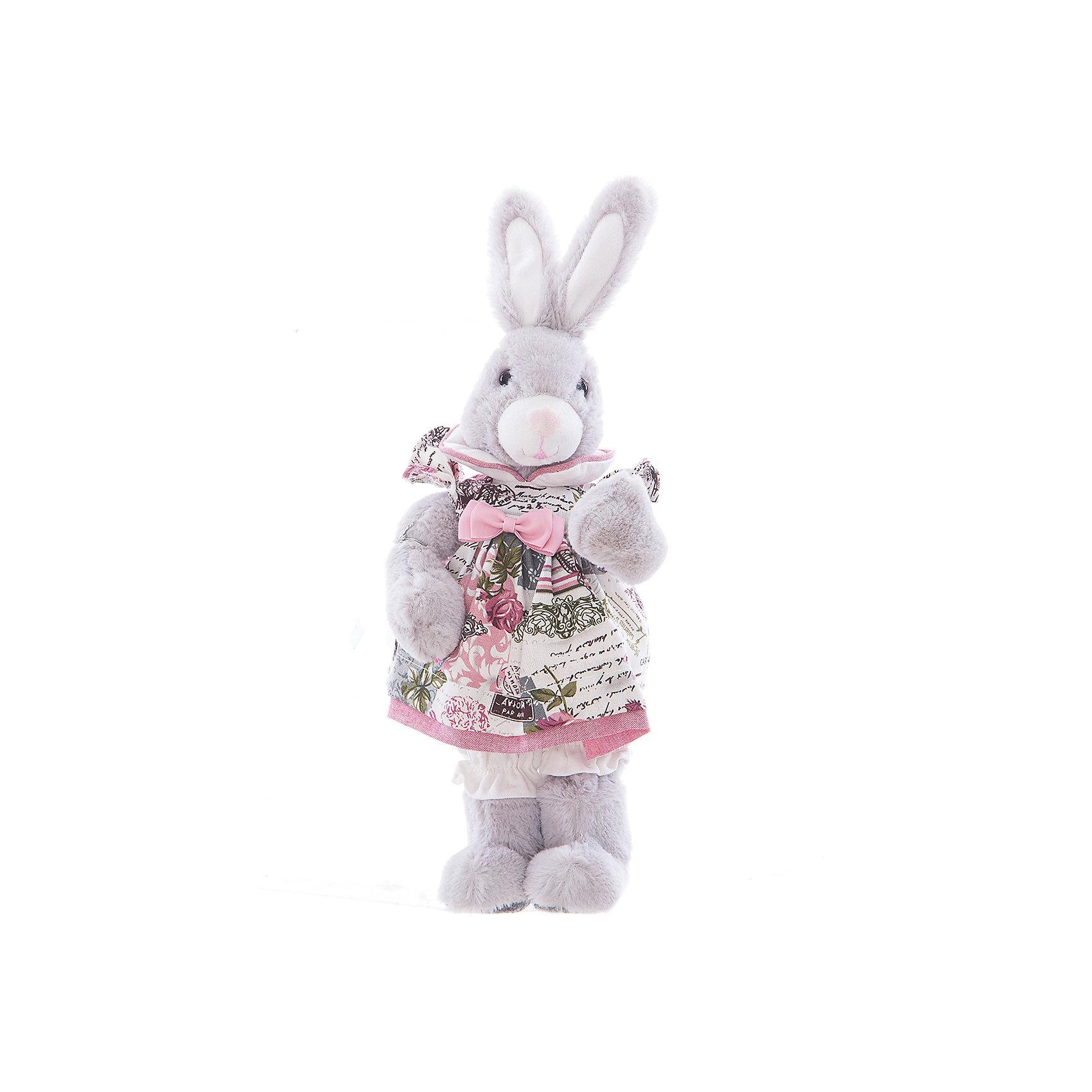 Интерьерная кукла Зайчик C21-168328, EstroПредметы интерьера<br>Характеристики интерьерной куклы:<br><br>- комплектация: игрушка<br>- размеры (высота): 18* 40*12 см. <br>- тип игрушки: животные, мягкая игрушка<br>- персонаж: заяц<br>- вид упаковки: коробка<br>- возрастные ограничения: 3+<br>- состав: дерево, полиэстер, текстиль, полиэфир, пластик,<br>- стиль: классический, прованс<br>- материал изготовления: высококачественный пластик, полиэстер, ткань<br>- бред: Estro<br>- страна бренда: Италия<br>- страна производитель: Китай<br><br>Серая зайчиха в цветном платье от торговой марки Estro дизайн изделия тщательно проработан. Все составляющие тщательно подогнаны и отлично подходят друг к другу. Выбранная кукла торговой марки Estro превосходно подойдет под Ваш интерьер. Выбранная кукла будет приятной покупкой или презентом родным, состоит из материалов отличного качества красивой палитры. Великолепная кукла является хорошим вариантом для любой коллекции. <br><br>Интерьерную куклу заяц итальянской торговой марки Estro можно купить в нашем интернет-магазине.<br><br>Ширина мм: 100<br>Глубина мм: 150<br>Высота мм: 400<br>Вес г: 328<br>Возраст от месяцев: 36<br>Возраст до месяцев: 1188<br>Пол: Женский<br>Возраст: Детский<br>SKU: 5356613