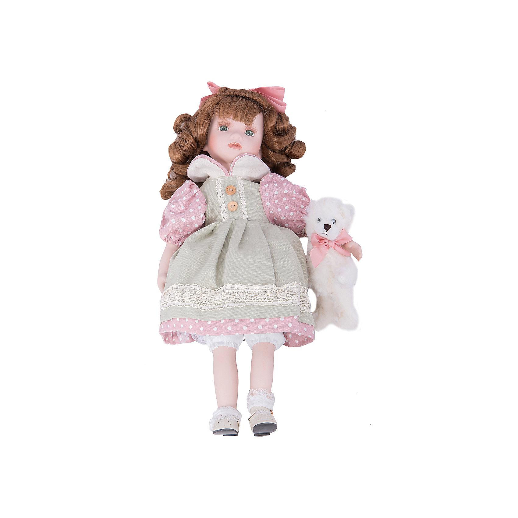 Интерьерная кукла Девочка с мишкой C21-188518, EstroПредметы интерьера<br>Характеристики интерьерной куклы:<br><br>- размеры (высота): 15* 35*12 см. <br>- тип игрушки: животные; фигурки<br>- персонаж: девочка и медведь <br>- вид упаковки: коробка<br>- возрастные ограничения: 3+<br>- комплектация: игрушка ( 2 шт.)<br>- состав: дерево, полиэстер, текстиль, полиэфир, пластик,<br>- материал изготовления: фарфор, полиэстер, ткань<br>- стиль: классический, прованс<br>- бренд: Estro <br>- страна бренда: Италия<br>- страна производитель: Китай<br><br>Интерьерная кукла девочка с каштановыми волосами и с белым мишкой придаст оригинальности Вашему интерьеру, принесет уют в Ваш дом. При изготовлении интерьерных кукол торговой марки Estro применяются только качественные, высококлассные материалы.<br><br>Интерьерную куклу девочка с медвежонком итальянской торговой марки Estro можно купить в нашем интернет-магазине.<br><br>Ширина мм: 100<br>Глубина мм: 150<br>Высота мм: 450<br>Вес г: 950<br>Возраст от месяцев: 36<br>Возраст до месяцев: 1188<br>Пол: Женский<br>Возраст: Детский<br>SKU: 5356614