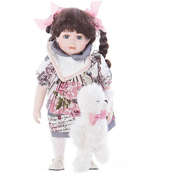 Интерьерная кукла Девочка с мишкой C21-148611, Estro от myToys