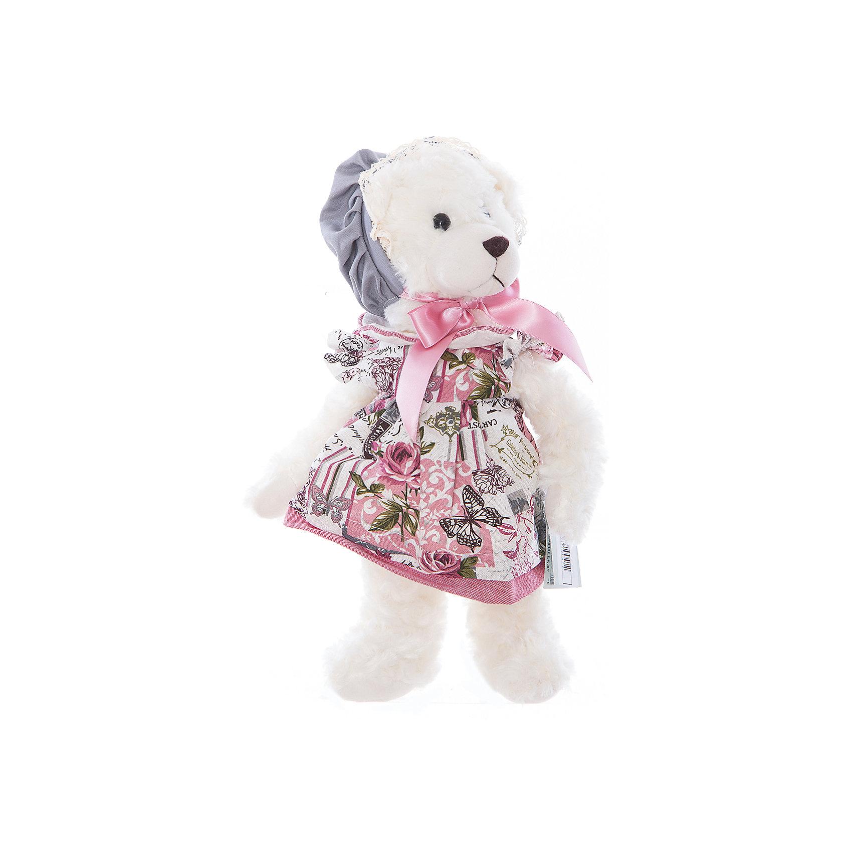 Интерьерная кукла Мишка C21-148614, EstroПредметы интерьера<br>Характеристики интерьерной куклы:<br><br>- размеры (высота): 31 см. <br>- тип игрушки: животные; фигурки<br>- персонаж: девочка и медведь <br>- вид упаковки: коробка<br>- возрастные ограничения: 3+<br>- комплектация: игрушка ( 2 шт.)<br>- состав: 100% полиэстр, набивка — полиэфирное волокно, платье — текстиль, без механизма.<br>- стиль: классический, прованс<br>- бренд: Estro <br>- страна бренда: Италия<br>- страна производитель: Китай<br><br>Кукла медведица придаст оригинальности Вашему интерьеру, принесет уют в Ваш дом. При изготовлении интерьерной куклы торговой марки Estro применяются только качественные, высококлассные материалы. Необыкновенные интерьерные куклы торговой марки Estro придадут оригинальности Вашему интерьеру, привнесут уют в ваш дом.<br><br>Интерьерную куклу медвежонок итальянской торговой марки Estro можно купить в нашем интернет-магазине.<br><br>Ширина мм: 100<br>Глубина мм: 150<br>Высота мм: 350<br>Вес г: 334<br>Возраст от месяцев: 36<br>Возраст до месяцев: 1188<br>Пол: Женский<br>Возраст: Детский<br>SKU: 5356616