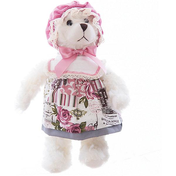 Интерьерная кукла Мишка C21-128273, EstroДетские предметы интерьера<br>Характеристики интерьерной куклы:<br><br>- размеры (высота): 30 см. <br>- тип игрушки: животные, мягкая игрушка<br>- персонаж: медведь <br>- вид упаковки: коробка<br>- возрастные ограничения: 3+<br>- комплектация: игрушка <br>- состав: 100% полиэстр, набивка — полиэфирное волокно, платье — текстиль, без механизма.<br>- материал изготовления: высококачественный пластик, полиэстер, ткань<br>- стиль: классический, прованс<br>- бренд: Estro <br>- страна бренда: Италия<br>- страна производитель: Китай<br><br>Превосходный интерьерная кукла Медведь торговой марки Estro будет прекрасным решением для домашнего интерьера. Эта вещь будет удачным приобретением для Вашей квартиры или презентом на свадьбу. Внешний вид интерьерная куклы основательно проработан. Все составляющие аккуратно выбраны и хорошо подходят друг к другу. <br><br>Интерьерную куклу медвежонок итальянской торговой марки Estro можно купить в нашем интернет-магазине.<br>Ширина мм: 100; Глубина мм: 100; Высота мм: 300; Вес г: 180; Возраст от месяцев: 36; Возраст до месяцев: 1188; Пол: Женский; Возраст: Детский; SKU: 5356617;
