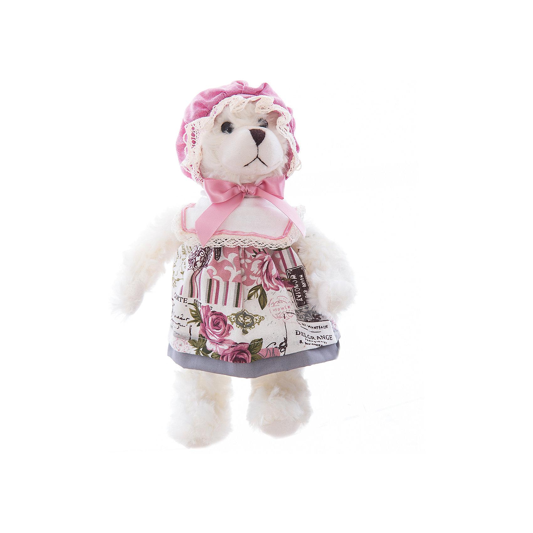 Интерьерная кукла Мишка C21-128273, EstroХарактеристики интерьерной куклы:<br><br>- размеры (высота): 30 см. <br>- тип игрушки: животные, мягкая игрушка<br>- персонаж: медведь <br>- вид упаковки: коробка<br>- возрастные ограничения: 3+<br>- комплектация: игрушка <br>- состав: 100% полиэстр, набивка — полиэфирное волокно, платье — текстиль, без механизма.<br>- материал изготовления: высококачественный пластик, полиэстер, ткань<br>- стиль: классический, прованс<br>- бренд: Estro <br>- страна бренда: Италия<br>- страна производитель: Китай<br><br>Превосходный интерьерная кукла Медведь торговой марки Estro будет прекрасным решением для домашнего интерьера. Эта вещь будет удачным приобретением для Вашей квартиры или презентом на свадьбу. Внешний вид интерьерная куклы основательно проработан. Все составляющие аккуратно выбраны и хорошо подходят друг к другу. <br><br>Интерьерную куклу медвежонок итальянской торговой марки Estro можно купить в нашем интернет-магазине.<br><br>Ширина мм: 100<br>Глубина мм: 100<br>Высота мм: 300<br>Вес г: 180<br>Возраст от месяцев: 36<br>Возраст до месяцев: 1188<br>Пол: Женский<br>Возраст: Детский<br>SKU: 5356617