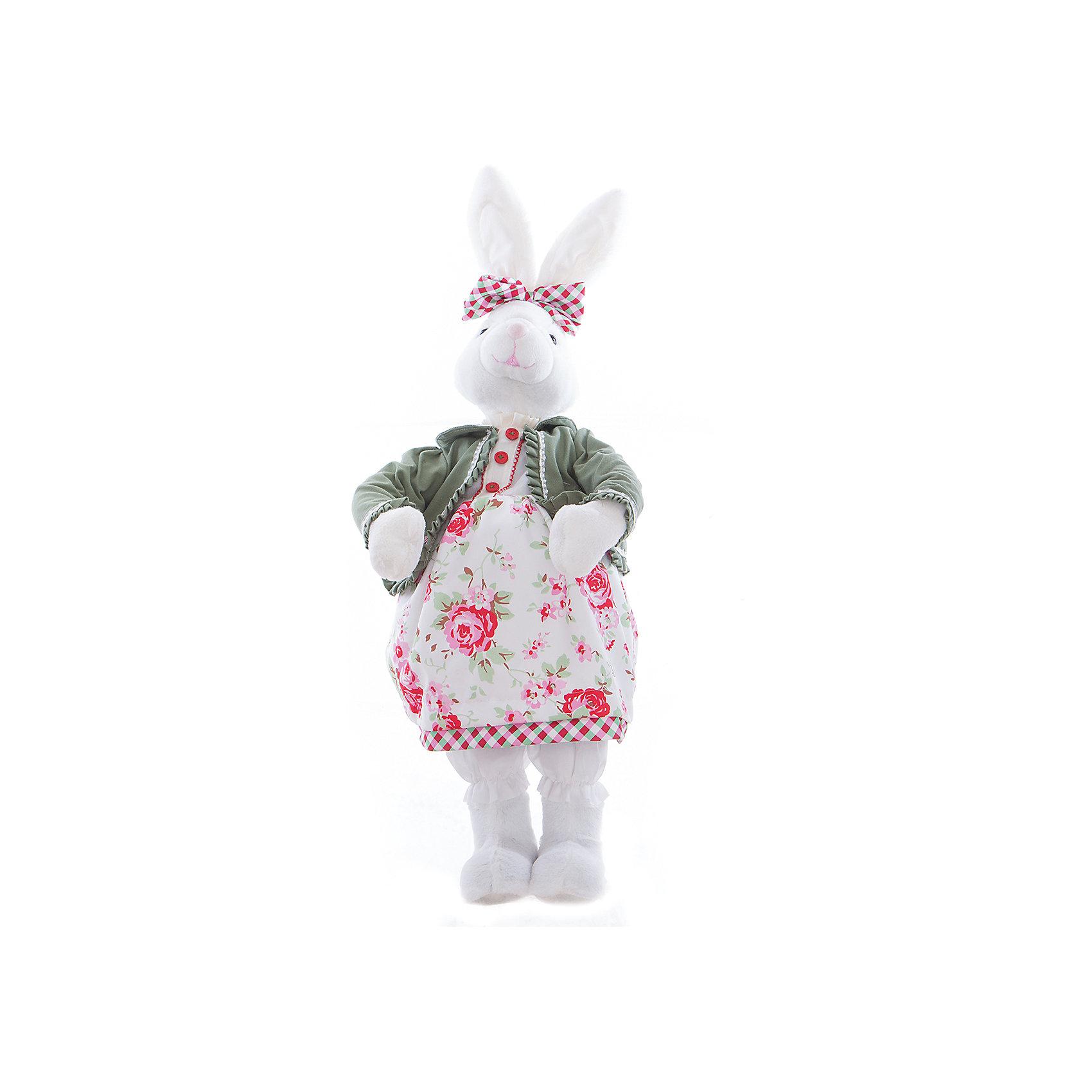 Интерьерная кукла Зайчик C21-288054, EstroПредметы интерьера<br>Характеристики интерьерной куклы:<br><br>- размеры (высота): 70 см. <br>- тип игрушки: животные, мягкая игрушка<br>- персонаж: заяц<br>- вид упаковки: коробка<br>- возрастные ограничения: 3+<br>- комплектация: игрушка <br>- состав: 50% пластик, 50% полиэстр, платье текстиль, без механизма.<br>- материал изготовления: высококачественный пластик, полиэстер, ткань<br>- стиль: классический, прованс<br>- бренд: Estro <br>- страна бренда: Италия<br>- страна производитель: Китай<br><br>Интерьерная кукла торговой марки Estro в виде белой зайки будет замечательным приобретением или презентом на новоселье, легко подойдет под любую квартиру. Дизайн интерьерной куклы основательно продуман. Все части аккуратно подогнаны и хорошо совмещаются друг с другом. Модель изготовлена из лучших материалов приятного окраса. <br><br>Интерьерную куклу заяц итальянской торговой марки Estro можно купить в нашем интернет-магазине.<br><br>Ширина мм: 200<br>Глубина мм: 300<br>Высота мм: 700<br>Вес г: 1236<br>Возраст от месяцев: 36<br>Возраст до месяцев: 1188<br>Пол: Женский<br>Возраст: Детский<br>SKU: 5356618