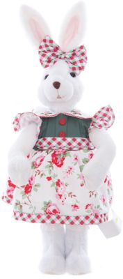 Интерьерная кукла Зайчик C21-228221, Estro