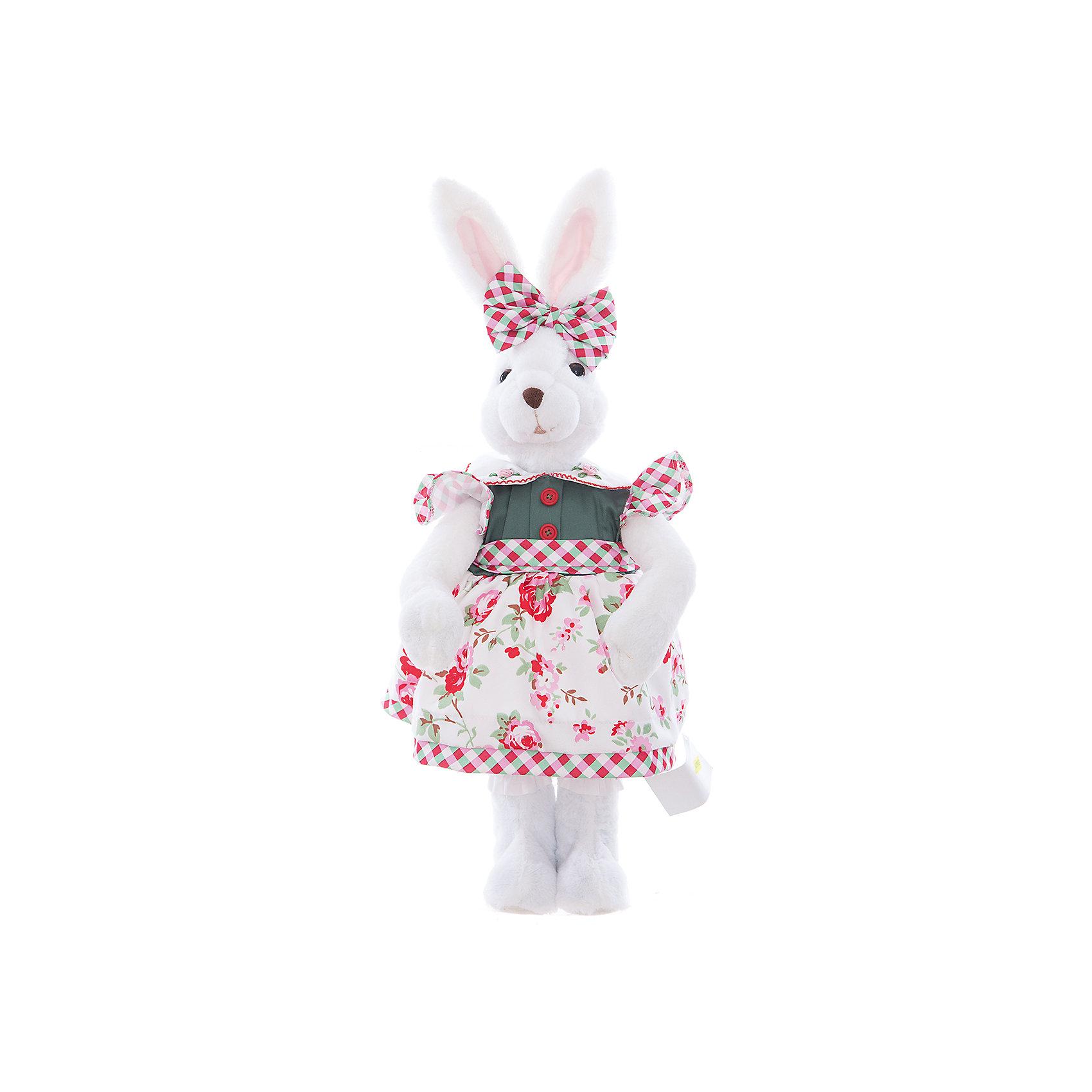 Интерьерная кукла Зайчик C21-228221, EstroПредметы интерьера<br>Характеристики интерьерной куклы:<br><br>- размеры (высота): 55 см. <br>- тип игрушки: животные, мягкая игрушка<br>- персонаж: заяц<br>- вид упаковки: коробка<br>- возрастные ограничения: 3+<br>- комплектация: игрушка <br>- состав: 50% пластик, 50% полиэстр, платье текстиль, без механизма.<br>- материал изготовления: высококачественный пластик, полиэстер, ткань<br>- стиль: классический, прованс<br>- бренд: Estro <br>- страна бренда: Италия<br>- страна производитель: Китай<br><br>Белый зайка торговой марки Estro придаст оригинальности Вашему интерьеру, принесет уют в ваш дом. При ее изготовлении применяются только качественные, высококлассные материалы. Стиль тщательно проработан. Все элементы аккуратно выбраны и удачно дополняют друг друга. Модель произведена из сырья отличного качества приятных цветов. Замечательная интерьерная кукла Зайчиха торговой марки Estro является прекрасным приобретением для домашнего интерьера. <br><br>Интерьерную куклу заяц  итальянской торговой марки Estro можно купить в нашем интернет-магазине.<br><br>Ширина мм: 150<br>Глубина мм: 200<br>Высота мм: 550<br>Вес г: 577<br>Возраст от месяцев: 36<br>Возраст до месяцев: 1188<br>Пол: Женский<br>Возраст: Детский<br>SKU: 5356619