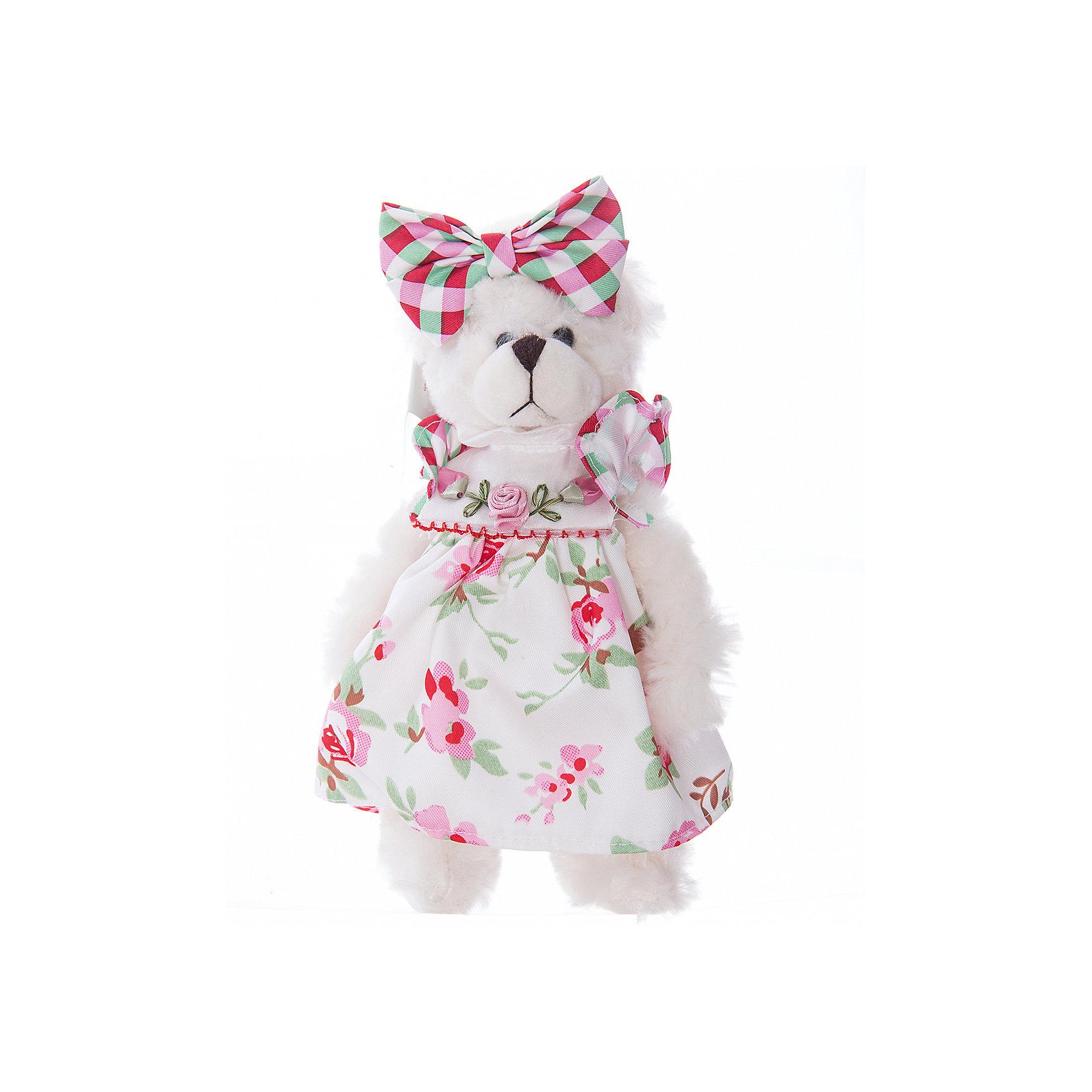 Интерьерная кукла Мишка C21-108128, EstroХарактеристики интерьерной куклы:<br><br>- размеры (высота): 25*12*8 см <br>- тип игрушки: животные, мягкая игрушка<br>- персонаж: медведь <br>- вид упаковки: коробка<br>- возрастные ограничения: 3+<br>- комплектация: игрушка <br>- состав: 100% полиэстр, набивка — полиэфирное волокно, платье — текстиль, без механизма.<br>- материал изготовления: высококачественный пластик, полиэстер, ткань<br>- стиль: классический, прованс<br>- бренд: Estro <br>- страна бренда: Италия<br>- страна производитель: Китай<br><br>Интерьерная кукла медведь торговой марки Estro будет прекрасным решением для домашнего интерьера. Эта вещь будет удачным приобретением для Вашей квартиры или презентом на свадьбу. Внешний вид интерьерной куклы основательно проработан. Все составляющие аккуратно выбраны и хорошо подходят друг к другу. <br><br>Интерьерную куклу медвежонок итальянской торговой марки Estro можно купить в нашем интернет-магазине.<br><br>Ширина мм: 100<br>Глубина мм: 100<br>Высота мм: 250<br>Вес г: 132<br>Возраст от месяцев: 36<br>Возраст до месяцев: 1188<br>Пол: Женский<br>Возраст: Детский<br>SKU: 5356621