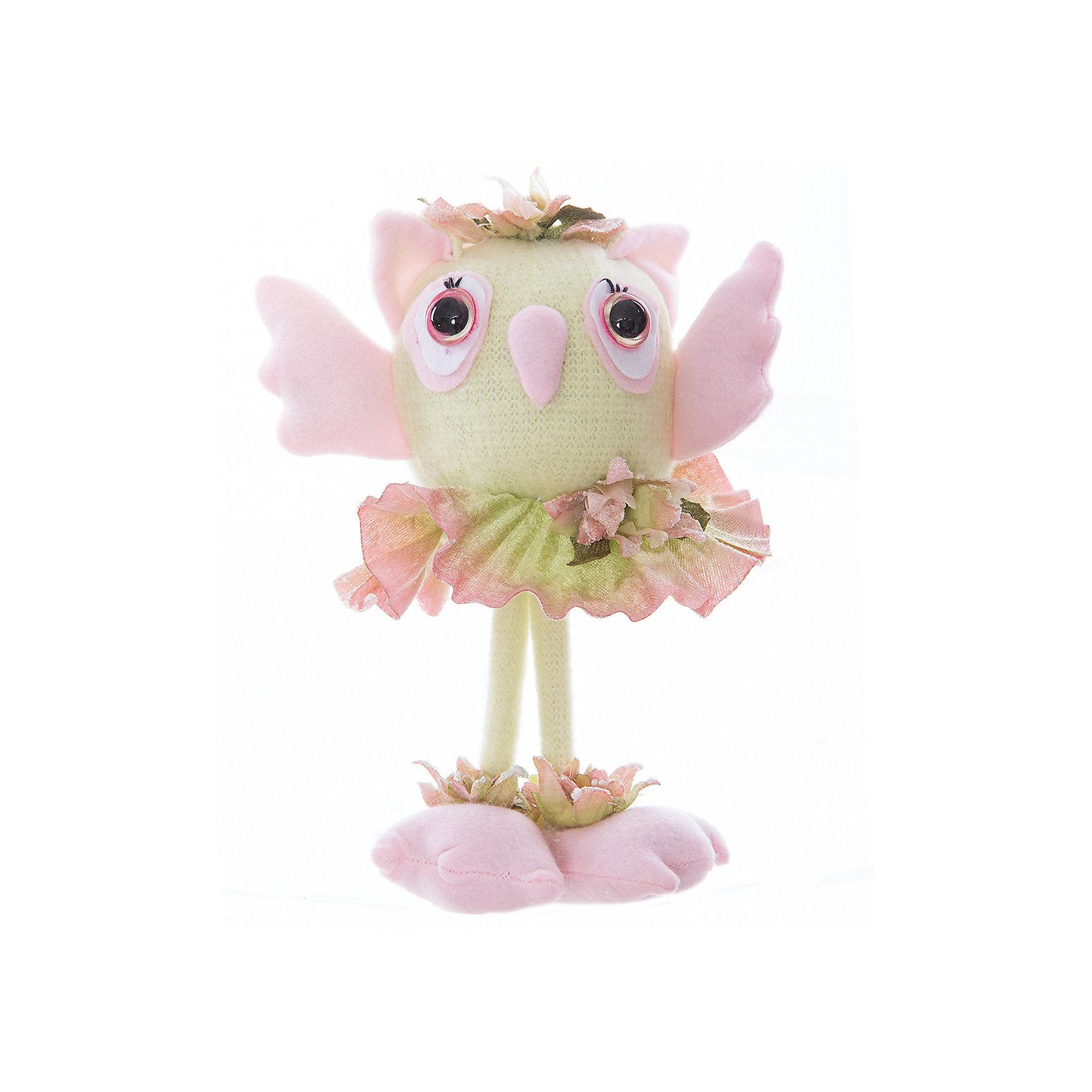 Интерьерная кукла Совушка C21-106029, EstroХарактеристики интерьерной куклы:<br><br>- размеры: 25*12*8 см. <br>- тип игрушки: животные, мягкая игрушка<br>- персонаж: сова<br>- вид упаковки: коробка<br>- возрастные ограничения: 3+<br>- комплектация: игрушка <br>- состав: полиэстер, полиэфир<br>- материал изготовления: высококачественный пластик, полиэстер, ткань<br>- стиль: классический, прованс<br>- бренд: Estro <br>- страна бренда: Италия<br>- страна производитель: Китай<br><br><br>В последние годы интерьерные куклы пользуются немалой популярностью, однако не стоит думать, что это изобретение исключительного нашего века. Настоящий бум в украшении интерьеров куклами пришелся на XVIII-ХIX века. Однако в ХХ веке эта традиция постепенно сошла на нет. Великолепная модель от торговой марки Estro салатовая сова выполнена с потрясающей детализацией и смотрится невероятно стильно. <br><br>Интерьерную куклу сова итальянской торговой марки Estro можно купить в нашем интернет-магазине.<br><br>Ширина мм: 100<br>Глубина мм: 100<br>Высота мм: 250<br>Вес г: 193<br>Возраст от месяцев: 36<br>Возраст до месяцев: 1188<br>Пол: Женский<br>Возраст: Детский<br>SKU: 5356623