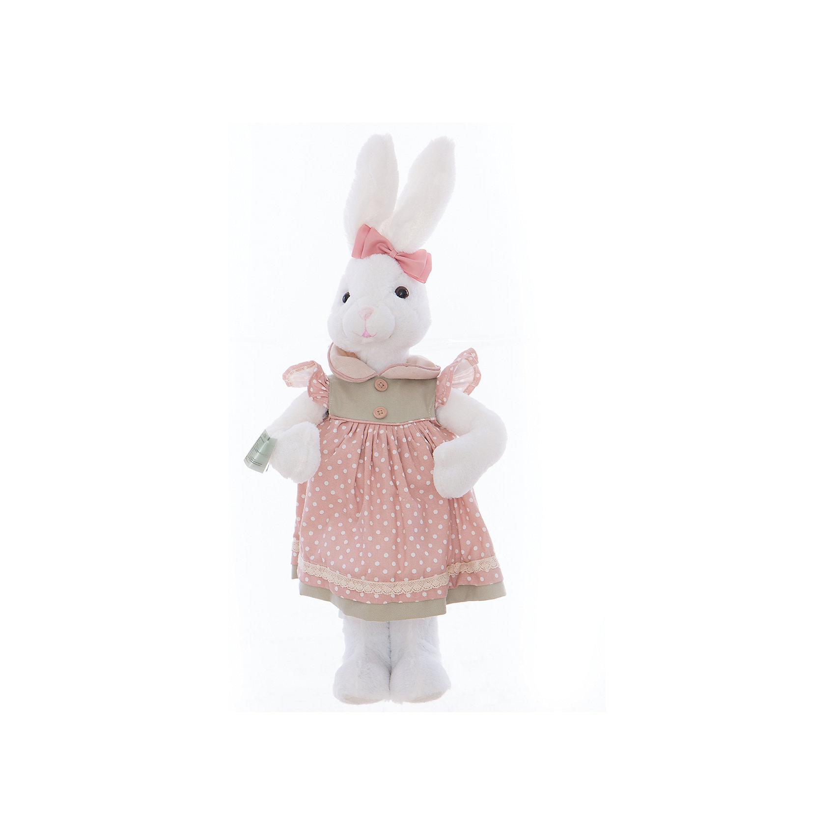 Интерьерная кукла Зайчик C21-228216, EstroПредметы интерьера<br>Характеристики интерьерной куклы:<br><br>- размеры: 25*12*8 см. <br>- тип игрушки: животные, мягкая игрушка<br>- персонаж: заяц<br>- вид упаковки: коробка<br>- возрастные ограничения: 3+<br>- комплектация: игрушка <br>- состав: дерево, полиэстер, текстиль, полиэфир <br>- материал изготовления: высококачественный пластик, полиэстер, ткань<br>- стиль: классический, прованс<br>- бренд: Estro <br>- страна бренда: Италия<br>- страна производитель: Китай<br><br>Кукла белый зайчик торговой марки Estro будет хорошим приобретением или подарком любимому человеку. Изделие состоит из материалов высшего качества красивой палитры, выполнено в пастельных тонах. Нежнейшие розовые, фисташковые, сиреневые, светло-серые, бежевые тона сочетаются с белым фоном. Благодаря светлой палитре прекрасно впишется практически в любой интерьер. И привнесет в дом душевность, оригинальность и стиль. <br><br>Интерьерную куклу заяц итальянской торговой марки Estro можно купить в нашем интернет-магазине.<br><br>Ширина мм: 150<br>Глубина мм: 200<br>Высота мм: 550<br>Вес г: 670<br>Возраст от месяцев: 36<br>Возраст до месяцев: 1188<br>Пол: Унисекс<br>Возраст: Детский<br>SKU: 5356627