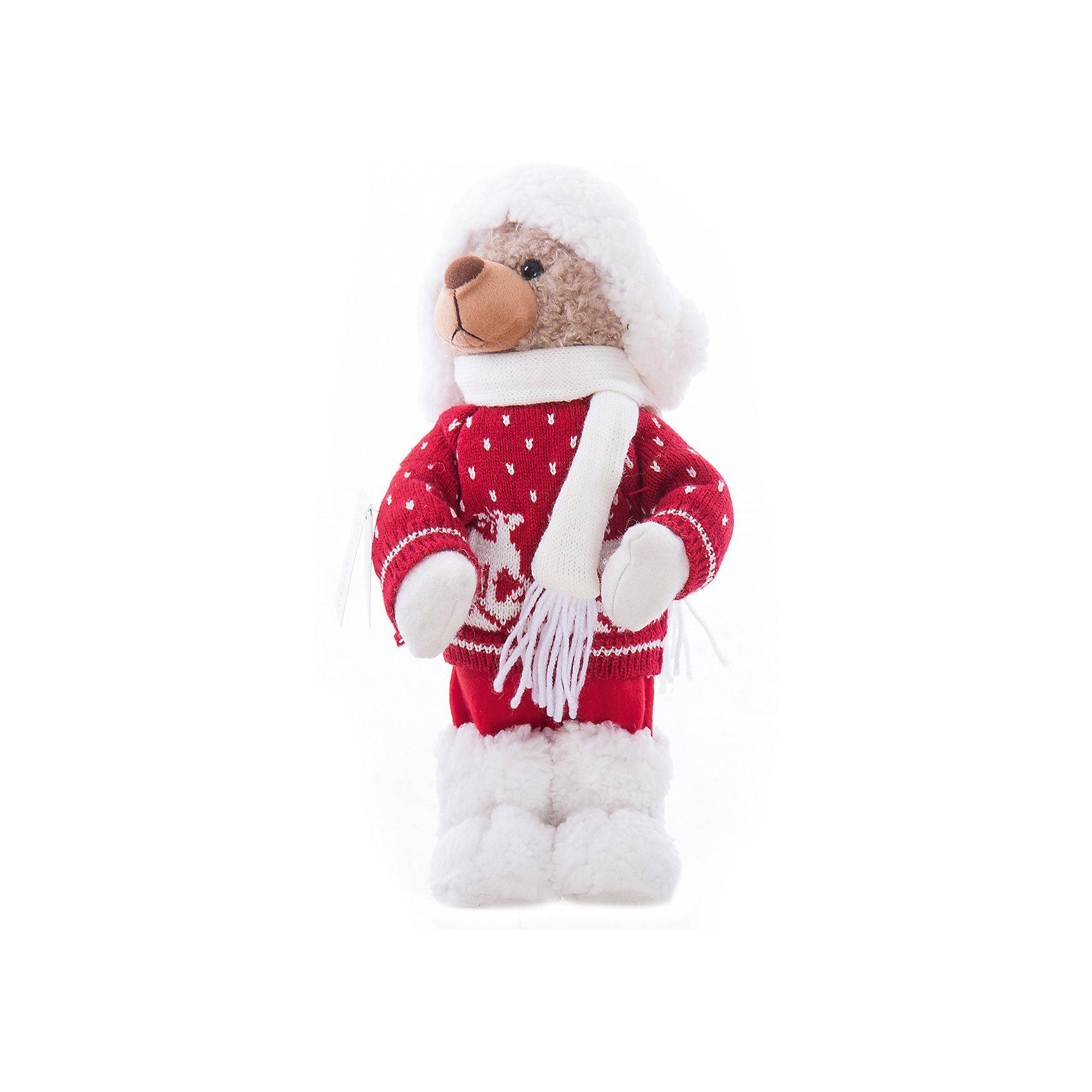 Интерьерная кукла Мишка C21-161143, EstroПредметы интерьера<br>Характеристики интерьерной куклы:<br><br>- состав: полиэстер, пластик, текстиль<br>- габариты предмета: 55* 20 * 20 см <br>- комплектация: игрушка<br>- тип игрушки: животные<br>- вид упаковки: коробка<br>- возрастные ограничения: 3+<br>- бренд: Estro <br>- страна бренда: Италия<br>- страна производитель: Китай<br><br>Интерьерная кукла медвежонок в зимнем наряде торговой марки Estro непременно украсит Ваш дом в зимние праздники и будет приятным воспоминанием о них. Оригинальный дизайн и красочное исполнение создадут атмосферу праздника. Кукла медвежонок создана вручную, неповторима и оригинальна. Порадуйте своих друзей и близких этим замечательным подарком!<br><br>Интерьерную куклу медвежонок итальянской торговой марки Estro можно купить в нашем интернет-магазине.<br><br>Ширина мм: 150<br>Глубина мм: 150<br>Высота мм: 400<br>Вес г: 391<br>Возраст от месяцев: 36<br>Возраст до месяцев: 1188<br>Пол: Унисекс<br>Возраст: Детский<br>SKU: 5356636
