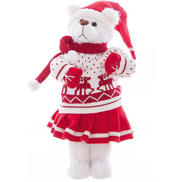 Интерьерная кукла Мишка C21-221036, EstroДетские предметы интерьера<br>Характеристики интерьерной куклы:<br><br>- состав: полиэстер, пластик, текстиль<br>- габариты предмета: 55 * 20 * 20 см<br>- тип игрушки: животные<br>- вид упаковки: коробка<br>- возрастные ограничения: 3+<br>- комплектация: игрушка<br>- бренд: Estro <br>- страна бренда: Италия<br>- страна производитель: Китай<br><br>Интерьерная кукла-игрушка медвежонок украсит Ваш дом, подарит атмосферу праздника. Послужит отличным подарком для вас и ваших близких к Новому году! Дизайн интерьерной куклы тщательно проработан. Все составляющие тщательно подогнаны и замечательно дополняют друг друга. Изделие итальянского бренда Estro превосходно дополнит любую квартиру, а также будет приятным приобретением или презентом родным. <br><br>Интерьерную куклу медвежонок итальянской торговой марки Estro можно купить в нашем интернет-магазине.<br><br>Ширина мм: 200<br>Глубина мм: 200<br>Высота мм: 550<br>Вес г: 512<br>Возраст от месяцев: 36<br>Возраст до месяцев: 1188<br>Пол: Женский<br>Возраст: Детский<br>SKU: 5356637