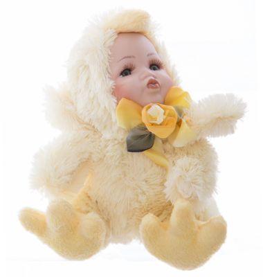 Интерьерная кукла Цыпленок C21-108053, Estro