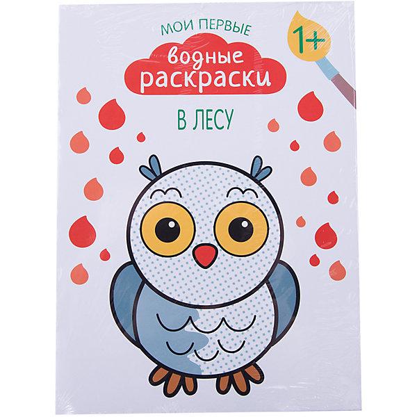 В лесу, Мои первые водные раскраскиРаскраски для детей<br>Характеристики раскраски В лесу из серии Мои первые водные раскраски: <br><br>• возраст: от 12 месяцев<br>• пол: для мальчиков и девочек<br>• материал: бумага<br>• количество страниц: 8.<br>• размер раскраски: 20.5 x 28 см.<br>• автор: Романова М.<br>• тип обложки: мягкая.<br>• бренд: Мозаика-Синтез<br>• страна обладатель бренда: Россия.<br><br>Раскраска В лесу из серии Мои первые водные раскраски от издательства Мозаика-Синтез - это книжка, которая поможет развить творческие способности малыша. Главной особенностью раскраски является то, что при ее раскрашивании совсем не нужно красок или даже карандашей - для того, чтобы изображение обрело цвет, нужно всего лишь добавить на него немного воды. Такая раскраска непременно понравится малышу и надолго его увлечет.<br><br>Раскраску В лесу из серии Мои первые водные раскраски от издательства Мозаика-Синтез можно купить в нашем интернет-магазине.<br>Ширина мм: 2; Глубина мм: 205; Высота мм: 280; Вес г: 72; Возраст от месяцев: 12; Возраст до месяцев: 36; Пол: Унисекс; Возраст: Детский; SKU: 5362886;