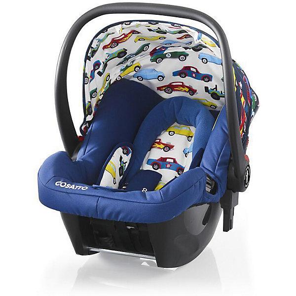Автокресло Cosatto  Hold 0-13 кг, Rev UpГруппа 0+  (до 13 кг)<br>Характеристики автокресла Hold Cosatto:<br><br>• группа 0+;<br>• вес ребенка: до 13 кг;<br>• возраст ребенка: от рождения до 12 месяцев;<br>• способ установки: против хода движения автомобиля;<br>• способ крепления: штатными ремнями безопасности автомобиля;<br>• есть возможность установить автокресло на базу с системой крепления Isofix - база приобретается отдельно;<br>• 5-ти точечные ремни безопасности с мягкими накладками;<br>• регулируемый защитный капор;<br>• анатомический вкладыш для новорожденного;<br>• в комплекте с автокреслом идет дождевик;<br>• пластиковая ручка, автолюлька используется как переноска, положение ручки меняется;<br>• автокресло можно использовать как кресло-качалку;<br>• чтобы зафиксировать кресло, необходимо изменить положение ручки и создать упор в пол;<br>• съемные чехлы, стирка при температуре 30 градусов;<br>• материал: пластик, полиэстер;<br>• стандарт безопасности: ЕСЕ R44/03.<br><br>Размер автокресла, ДхШхВ: 70х44х60 см<br>Вес автокресла: 4,2 кг<br><br>Автокресло Hold Cosatto устанавливается как против хода движения автомобиля на заднем сиденье. Глубокая чаша просторная, малышу удобно находится в кресле даже в теплом комбинезоне. Анатомический вкладыш с подголовником снимается. Автокресло соответствует европейским стандартам безопасности. Авктокресло можно установить на раму коляски Cosatto. Адаптеры для установки автокресла на шасси коляски входят в комплект.<br><br>Автокресло 0-13 кг., HOLD, COSATTO, Rev Up можно купить в нашем интернет-магазине.<br><br>Ширина мм: 740<br>Глубина мм: 440<br>Высота мм: 380<br>Вес г: 6000<br>Возраст от месяцев: 0<br>Возраст до месяцев: 12<br>Пол: Мужской<br>Возраст: Детский<br>SKU: 5362944