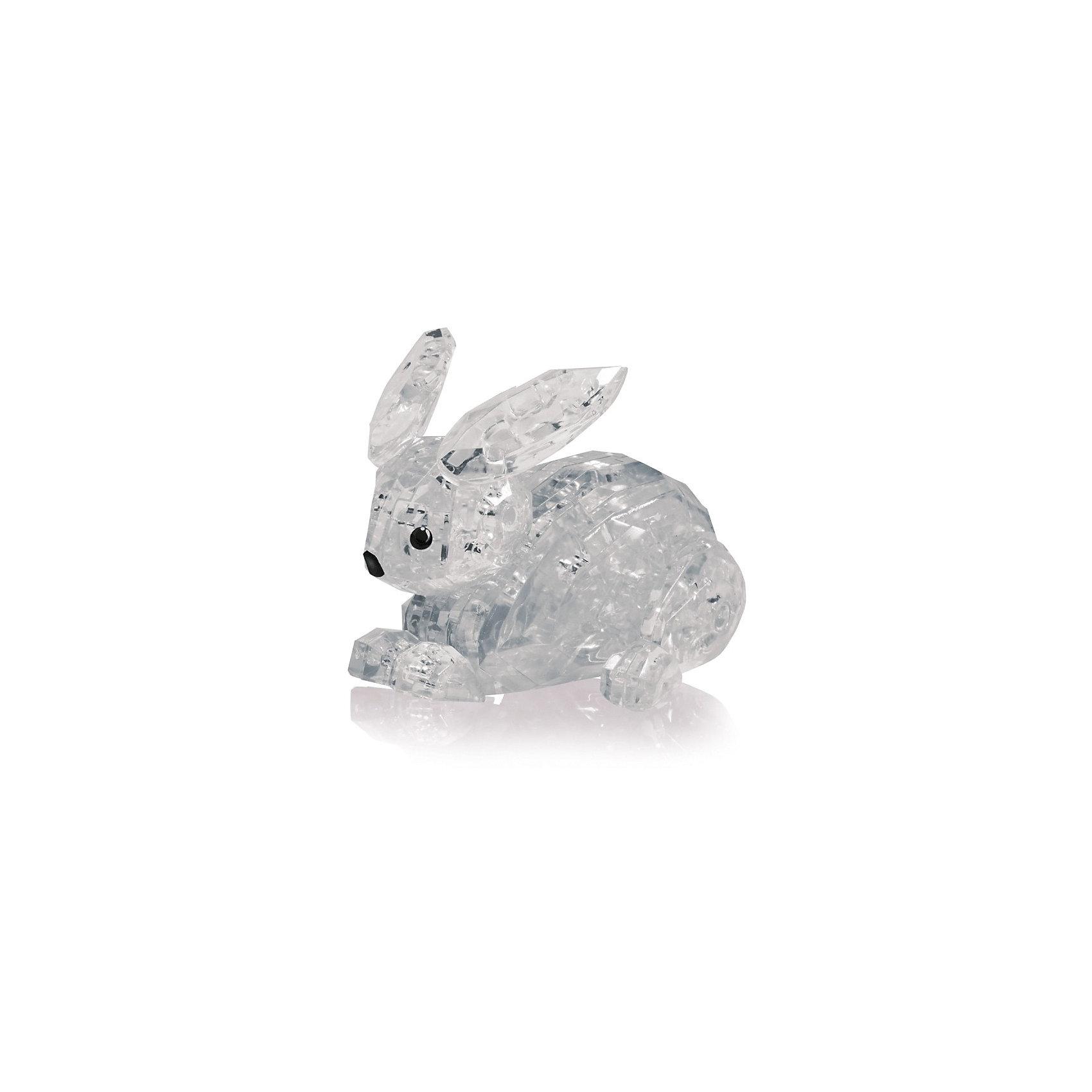 Кристаллический пазл 3D Заяц L3D пазлы<br>Характеристики товара:<br><br>• возраст: от 14 лет;<br>• материал: пластик;<br>• в комплекте: 56 элементов, инструкция;<br>• размер упаковки: 18х14х4 см;<br>• вес упаковки: 96 гр.;<br>• страна производитель: Китай.<br><br>Кристаллический пазл 3D «Заяц» Educational Line позволит собрать объемную фигурку из пластиковых прозрачных деталей пазла. Все детали прочно соединяются между собой и крепко держатся. В процессе сборки пазла развиваются мелкая моторика рук, усидчивость, внимательность, логическое мышление. <br><br>Кристаллический пазл 3D «Заяц» Educational Line можно приобрести в нашем интернет-магазине.<br><br>Ширина мм: 13<br>Глубина мм: 18<br>Высота мм: 4<br>Вес г: 128<br>Возраст от месяцев: 168<br>Возраст до месяцев: 2147483647<br>Пол: Унисекс<br>Возраст: Детский<br>SKU: 5362956