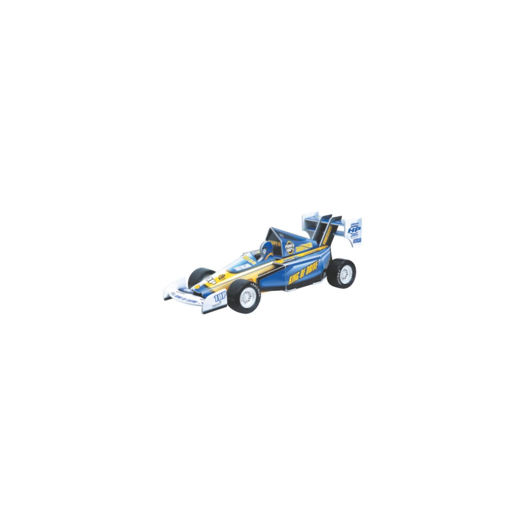 Конструктор-3D Гоночная Машинка XL, синяя3D пазлы<br>Характеристики товара:<br><br>• возраст: от 6 лет;<br>• материал: пластик;<br>• в комплекте: 40 элементов, инструкция;<br>• размер упаковки: 24х32х3,5 см;<br>• вес упаковки: 302 гр.;<br>• страна производитель: Китай.<br><br>Конструктор 3D «Гоночная машинка XL» синяя Educational Line позволит ребенку самому собрать подвижную игрушку. Все детали конструктора прочно соединяются между собой без дополнительных инструментов и клея.<br><br>Готовую модель можно использовать как настоящую машинку и устраивать с ней захватывающие заезды и разнообразные игры. Сборка конструктора способствует развитию логического мышления, внимательности, интеллекта.<br><br>Конструктор 3D «Гоночная машинка XL» синяя Educational Line можно приобрести в нашем интернет-магазине.<br><br>Ширина мм: 77<br>Глубина мм: 35<br>Высота мм: 77<br>Вес г: 312<br>Возраст от месяцев: 72<br>Возраст до месяцев: 2147483647<br>Пол: Мужской<br>Возраст: Детский<br>SKU: 5362965