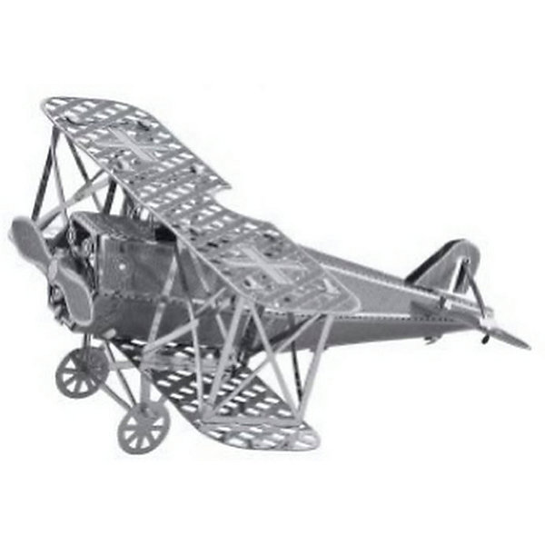 Сборная модель-3D Самолет-Истребитель Fokker LМеталлические конструкторы<br>Характеристики товара:<br><br>• возраст: от 12 лет;<br>• материал: металл;<br>• в комплекте: детали, инструкция;<br>• размер модели: 7х6х4 см;<br>• размер упаковки: 17х12х1 см;<br>• вес упаковки: 32 гр.;<br>• страна производитель: Китай.<br><br>Сборная 3D модель «Самолет-истребитель Fokker L» Educational Line позволит собрать из деталей объемную фигурку. Детали соединяются между собой без дополнительных инструментов и клея, а при помощи усиков, вставляющихся в соответствующие прорези.<br><br>В процессе сборки у ребенка развивается мелкая моторика рук, интеллект, логическое мышление, усидчивость.<br><br>Сборную 3D модель «Самолет-истребитель Fokker L» Educational Line можно приобрести в нашем интернет-магазине.<br><br>Ширина мм: 17<br>Глубина мм: 12<br>Высота мм: 10<br>Вес г: 28<br>Возраст от месяцев: 144<br>Возраст до месяцев: 2147483647<br>Пол: Мужской<br>Возраст: Детский<br>SKU: 5362968