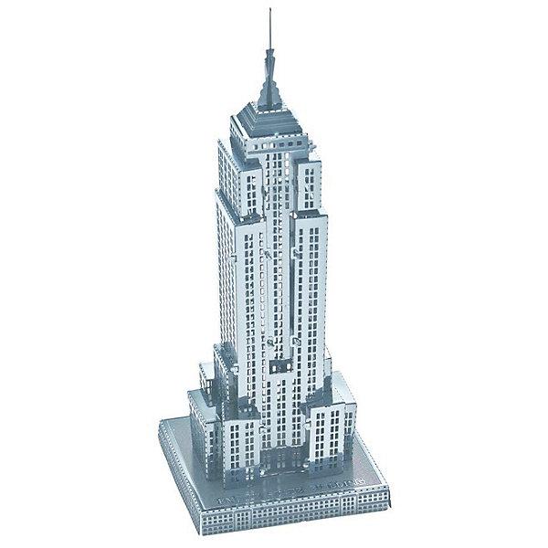 Сборная модель-3D Небоскреб Empire State Building LМодели из бумаги<br>Характеристики товара:<br><br>• возраст: от 12 лет;<br>• материал: металл;<br>• в комплекте: детали, инструкция;<br>• высота модели: 9 см;<br>• размер упаковки: 17х12х1 см;<br>• вес упаковки: 32 гр.;<br>• страна производитель: Китай.<br><br>Сборная 3D модель «Небоскреб Empire State Building L» Educational Line позволит собрать из деталей объемную модель известного здания в Нью-Йорке. Детали соединяются между собой без дополнительных инструментов и клея, а при помощи усиков, вставляющихся в соответствующие прорези.<br><br>В процессе сборки у ребенка развивается мелкая моторика рук, интеллект, логическое мышление, усидчивость.<br><br>Сборную 3D модель «Небоскреб Empire State Building L» Educational Line можно приобрести в нашем интернет-магазине.<br><br>Ширина мм: 17<br>Глубина мм: 12<br>Высота мм: 10<br>Вес г: 28<br>Возраст от месяцев: 144<br>Возраст до месяцев: 2147483647<br>Пол: Унисекс<br>Возраст: Детский<br>SKU: 5362970