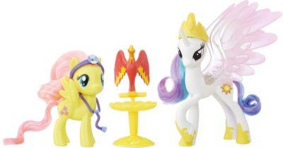Hasbro Пони-модницы парочки, My Little Pony, Принцесса Селестия и Флаттершай B9160/B9849 фото-1