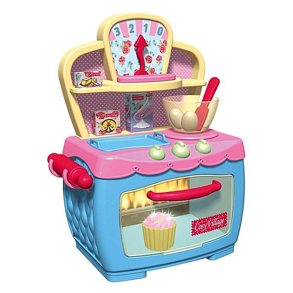 Волшебная электронная печка, HTIИгрушечная бытовая техника<br>Волшебная электронная печка, HTI.<br><br>Характеристика: <br><br>• Материал: пластик. <br>• Размер упаковки: 36х31х18 см. <br>• Размер печки: 31x25x47 см.<br>• Комплектация: печка, 11 аксессуаров.<br>• Звуковые эффекты.<br>• Элемент питания: 3 АА батарейки (не входят в комплект). <br>• Яркий привлекательный дизайн. <br>• Кексы светятся огоньками. <br>• Пирожное поднимается. <br>• Булочка поджаривается. <br><br>Волшебная электропечка - то, что нужно каждой маленькой хозяйке! Духовой шкаф прекрасно детализирован и выглядит как настоящий: регуляторы температур крутятся. Сверху над печкой расположены противень и весы для взвешивания продуктов. Хочешь испечь вкусное лакомство? <br><br>Положи заготовку в печку и смотри, как пирожное начинает подниматься и расти! Можно поджарить белую булочка - в духовке она станет румяной, а маленький кексик будет светиться огоньками. Все детали набора изготовлены из высококачественных нетоксичных материалов безопасных для детей. <br><br>Волшебную электронную печку, HTI, можно купить в нашем интернет-магазине.<br><br>Ширина мм: 354<br>Глубина мм: 304<br>Высота мм: 173<br>Вес г: 1800<br>Возраст от месяцев: 36<br>Возраст до месяцев: 168<br>Пол: Женский<br>Возраст: Детский<br>SKU: 5366509