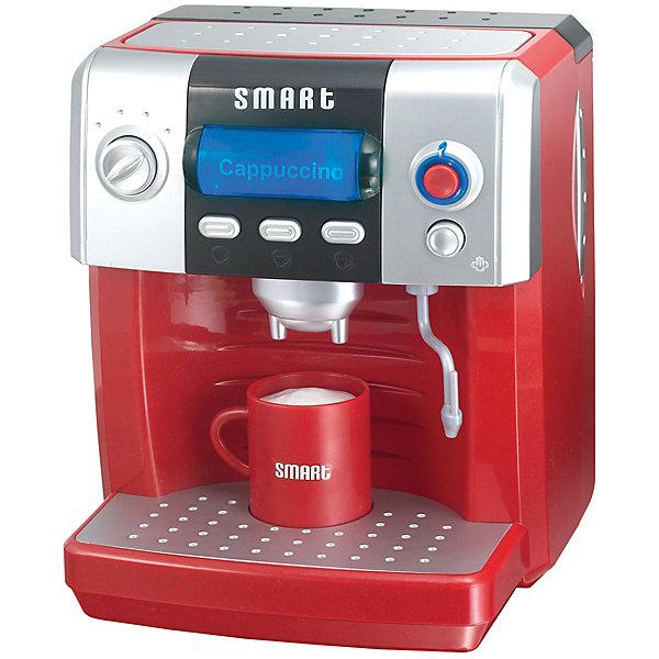 Кофеварка, HTIИгрушечная бытовая техника<br>Кофеварка, HTI.<br><br>Характеристика: <br><br>• Материал: пластик. <br>• Размер: 19х19х25 см. <br>• Комплектация: сахарница, щипцы для сахара, 6 кубиков сахара, молочник, 2 чашки, 2 ложки, молочная пенку. <br>• После приготовления кофе, пенка поднимается.<br>• Крути колесико и выбирай напиток. <br>• Яркий привлекательный дизайн. <br>• Элемент питания: 3 ААА батарейки (не входят в комплект). <br>• Кнопки с различными звуковыми эффектами и подсветкой. <br><br>Яркая кофеварка приведет в восторг вашу маленькую хозяйку! Машина работает по принципу настоящей, взрослой кофемашиы: нажимай на кнопки, подставляй кружку - ароматный капучино с настоящей молочной пенкой обязательно порадует любимых гостей. Игрушка выполнена из высококачественных гипоаллергенных материалов, в производстве которых использованы только нетоксичные безопасные красители. <br><br>Кофеварку, HTI, можно купить в нашем интернет-магазине.<br><br>Ширина мм: 253<br>Глубина мм: 292<br>Высота мм: 204<br>Вес г: 1100<br>Возраст от месяцев: 36<br>Возраст до месяцев: 168<br>Пол: Женский<br>Возраст: Детский<br>SKU: 5366517