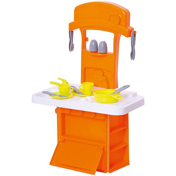 Маленькая электронная кухня Smart, HTIДетские кухни<br>Маленькая электронная кухня Smart, HTI. <br><br>Характеристика: <br><br>• Материал: пластик. <br>• Размер: 47x12х28 см. <br>• Высота игрушки: 60 см. <br>• Комплектация: кухня с мойкой и плитой, 2 чашки, кастрюля, вилка, ложка, солонка, перечница и другие аксессуары (всего 14 шт). <br>• Дверцы шкафа открываются. <br>• Яркий привлекательный дизайн. <br>• Звуковые и световые эффекты. <br>• Элемент питания: 2 ААА батарейки (не входят в комплект). <br><br>Яркая функциональная мини-кухня приведет в восторг любую девочку! В наборе есть все, чтобы осчастливить и заинтересовать вашу юную хозяйку. Мойка, плита, открывающиеся дверцы, посуда и аксессуары сделают игры еще увлекательнее и интереснее! Все детали набора выполнены из высококачественного пластика, в производстве которого использованы только нетоксичные качественные красители. <br><br>Маленькую электронную кухню Smart, HTI, можно купить в нашем интернет-магазине.<br>Ширина мм: 284; Глубина мм: 468; Высота мм: 125; Вес г: 1100; Возраст от месяцев: 36; Возраст до месяцев: 168; Пол: Женский; Возраст: Детский; SKU: 5366518;