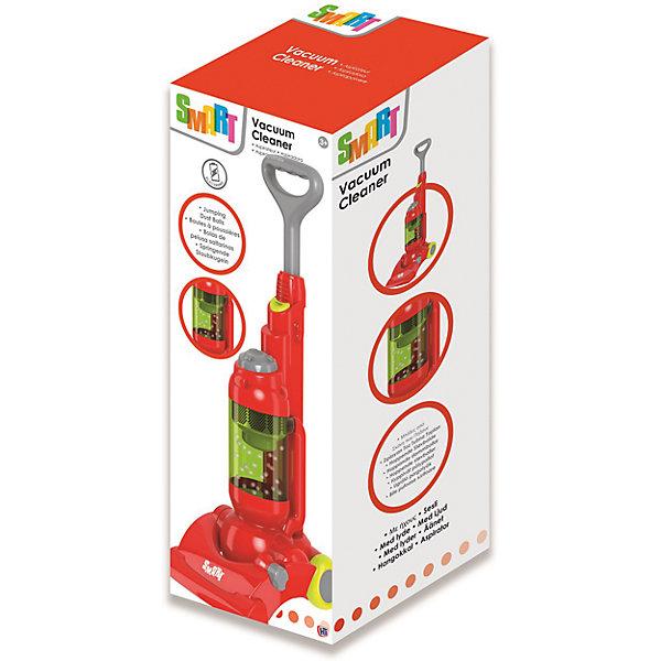 Стильный пылесос Smart, HTIНаборы для уборки<br>Стильный пылесос Smart, HTI.<br><br>Характеристика: <br><br>• Материал: пластик. <br>• Размер упаковки: 20x40х35 см. <br>• Размер игрушки: 51х19,3х18,6 см. <br>• Комплектация: пылесос, подставка на колесах. <br>• Во время работы в прозрачном цилиндре прыгают мелкие разноцветные шарики.<br>• Легкий и маневренный. <br>• Яркий привлекательный дизайн. <br>• Элемент питания: 2 АА батарейки (не входят в комплект). <br>• Световые и звуковые эффекты. <br><br>Стильный пылесос Smart приведет в восторг вашу юную хозяйку! Реалистичные звуковые эффекты и маленькие разноцветные шарики, прыгающие в прозрачном цилиндре, сделают игры девочки еще интереснее и увлекательнее. Легкий и маневренный пылесос оснащен удобной подставкой на колесиках, изготовлен из высококачественного прочного пластика безопасного для детей. <br><br>Стильный пылесос Smart, HTI, можно купить в нашем интернет-магазине.<br>Ширина мм: 180; Глубина мм: 760; Высота мм: 170; Вес г: 1200; Возраст от месяцев: 36; Возраст до месяцев: 168; Пол: Женский; Возраст: Детский; SKU: 5366526;