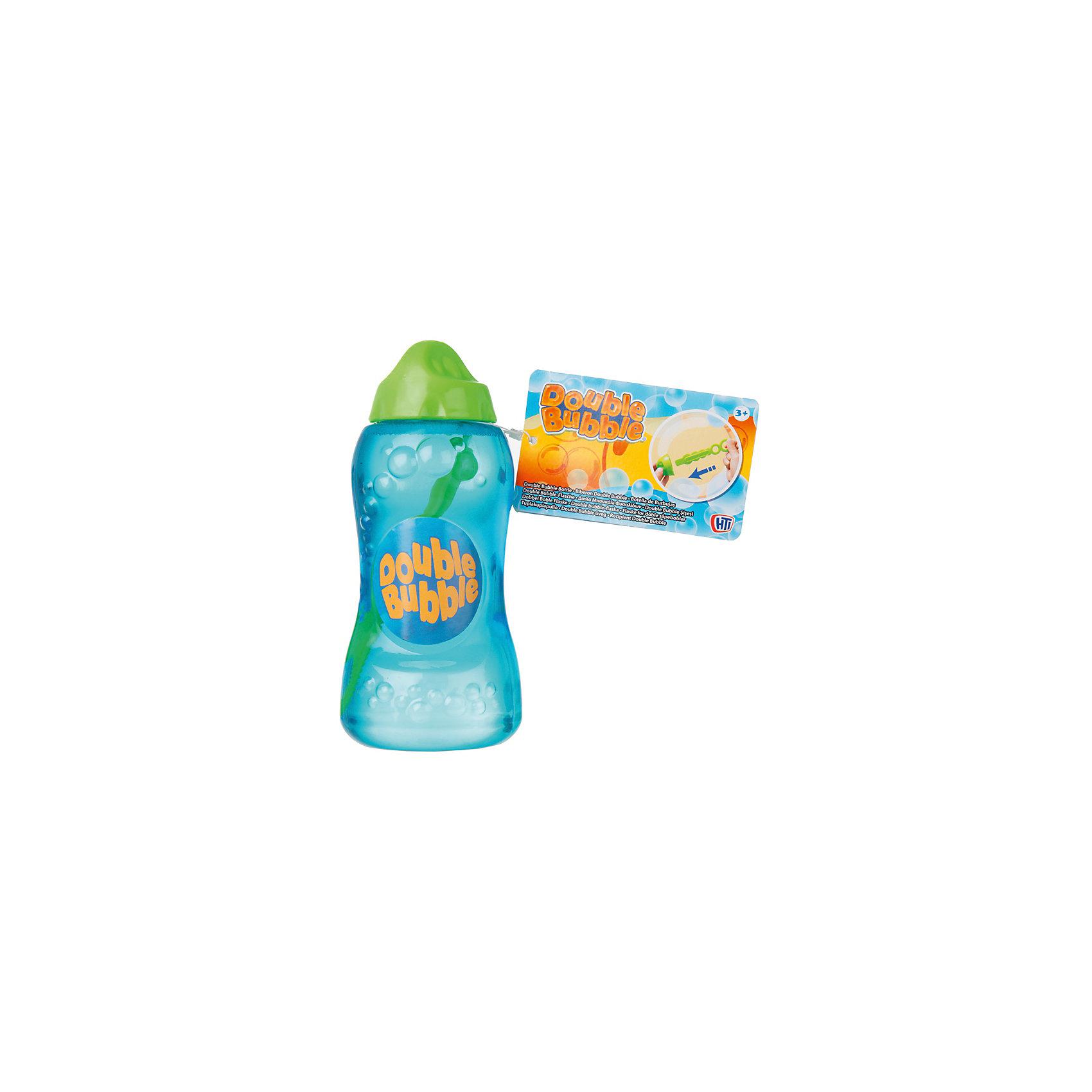Набор для пускания мыльных пузырей  с бутылочкой, HTIМыльные пузыри<br>Набор для пускания мыльных пузырей с бутылочкой, HTI.<br><br>Характеристика: <br><br>• Материал: пластик, мыло. <br>• Размер упаковки: 6,5х13х6,5 см.  <br>• Объем бутылочки: 236 мл. <br>• Эргономичная форма. <br>• Яркий привлекательный дизайн.<br><br>Дети обожают мыльные пузыри! Позвольте вашему малышу самому создать маленькое мыльное чудо. Бутылочка с мыльным раствором имеет удобную эргономичную форму, препятствующую выскальзыванию и идеально подходящую для детских рук. Мыльная жидкость имеет нетоксичный состав безопасный для детей.<br><br>Набор для пускания мыльных пузырей с бутылочкой, HTI, можно купить в нашем интернет-магазине.<br><br>Ширина мм: 137<br>Глубина мм: 63<br>Высота мм: 63<br>Вес г: 260<br>Возраст от месяцев: 36<br>Возраст до месяцев: 168<br>Пол: Унисекс<br>Возраст: Детский<br>SKU: 5366541
