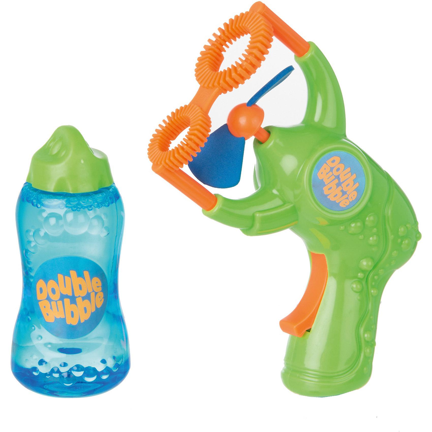 Пистолет для пускания мыльных пузырей, HTIМыльные пузыри<br>Пистолет для пускания мыльных пузырей, HTI.<br><br>Характеристика: <br><br>• Материал: пластик, мыло. <br>• Размер упаковки: 18х5х22 см.  <br>• Комплектация: пистолет для пускания пузырей, мыльный раствор (150 мл). <br>• Элемент питания: 1 АА батарейка (не входит в комплект). <br>• Яркий привлекательный дизайн.<br><br>Дети обожают мыльные пузыри! Новый бластер для пускания мыльных пузырей позволит создать целый фейерверк прозрачных переливающихся шариков. Мыльные пузыри выдуваются с помощью вентилятора, который работает при нажатии и удержании кнопки. Бластер выполнен из высококачественного прочного пластика, мыльная жидкость имеет нетоксичный состав безопасный для детей.<br><br>Пистолет для пускания мыльных пузырей, HTI, можно купить в нашем интернет-магазине.<br><br>Ширина мм: 180<br>Глубина мм: 50<br>Высота мм: 220<br>Вес г: 500<br>Возраст от месяцев: 36<br>Возраст до месяцев: 168<br>Пол: Унисекс<br>Возраст: Детский<br>SKU: 5366543