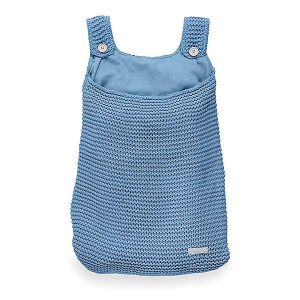 Сумка на кроватку, Jollein, BlueКорзины для игрушек<br>Характеристики:<br><br>• Вид детского текстиля: сумка на детскую кроватку<br>• Предназначение: для хранения детских текстильных принадлежностей<br>• Пол: универсальный<br>• Коллекция: Heavy knit (Крупная вязка)<br>• Цвет: голубой<br>• Тематика рисунка: без рисунка<br>• Крепится к кроватке за счет лямок на пуговицах<br>• Универсальный размер, подходит для любых моделей детских кроваток<br>• Материал: 50% хлопок, 50% акрил<br>• Размер: 50*40 см<br>• Особенности ухода: машинная или ручная стирка при температуре не более 30 градусов<br><br>Сумка на кроватку, Jollein, Blue от торговой марки Жолляйн, которая является признанным лидером среди аналогичных брендов, выпускающих детское постельное белье и текстиль для новорожденных. Продукция этого торгового бренда отличается высоким качеством и дизайнерским стилем. Сумка на кроватку Jollein, Blue выполнена из вязаного полотна, в состав которого входит хлопок и акрил. Такое сочетание обеспечивает прочность и долговечность изделия: оно не потеряет форму и на нем не будут образовываться катышки даже при частных стирках и длительной эксплуатации. <br><br>Изделие выполнено в форме сумки с двумя лямками на пуговицах, с помощью которых она крепится к бортику кроватки. У сумки имеется подклад. Изделие имеет дизайнерский стиль марки Жолляйн – сдержанный минимализм: однотонное полотно, выполненное крупной вязкой. <br>Сумка на кроватку, Jollein, Blue – это не только порядок и уют, это еще и стильный аксессуар для детской комнаты вашего малыша! <br><br>Сумку на кроватку, Jollein, Blue можно купить в нашем интернет-магазине.<br>Ширина мм: 250; Глубина мм: 400; Высота мм: 50; Вес г: 500; Возраст от месяцев: 0; Возраст до месяцев: 36; Пол: Унисекс; Возраст: Детский; SKU: 5367094;