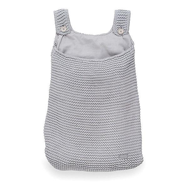 Сумка на кроватку, Jollein, Light greyКорзины для игрушек<br>Характеристики:<br><br>• Вид детского текстиля: сумка на детскую кроватку<br>• Предназначение: для хранения детских текстильных принадлежностей<br>• Пол: универсальный<br>• Коллекция: Heavy knit (Крупная вязка)<br>• Цвет: серый<br>• Тематика рисунка: без рисунка<br>• Крепится к кроватке за счет лямок на пуговицах<br>• Универсальный размер, подходит для любых моделей детских кроваток<br>• Материал: 50% хлопок, 50% акрил<br>• Размер: 50*40 см<br>• Особенности ухода: машинная или ручная стирка при температуре не более 30 градусов<br><br>Сумка на кроватку, Jollein, Light grey от торговой марки Жолляйн, которая является признанным лидером среди аналогичных брендов, выпускающих детское постельное белье и текстиль для новорожденных. Продукция этого торгового бренда отличается высоким качеством и дизайнерским стилем. Сумка на кроватку Jollein, Blue выполнена из вязаного полотна, в состав которого входит хлопок и акрил. Такое сочетание обеспечивает прочность и долговечность изделия: оно не потеряет форму и на нем не будут образовываться катышки даже при частных стирках и длительной эксплуатации. <br><br>Изделие выполнено в форме сумки с двумя лямками на пуговицах, с помощью которых она крепится к бортику кроватки. У сумки имеется подклад. Изделие имеет дизайнерский стиль марки Жолляйн – сдержанный минимализм: однотонное полотно, выполненное крупной вязкой. <br>Сумка на кроватку, Jollein, Light grey – это не только порядок и уют, это еще и стильный аксессуар для детской комнаты вашего малыша! <br><br>Сумку на кроватку, Jollein, Light grey можно купить в нашем интернет-магазине.<br><br>Ширина мм: 250<br>Глубина мм: 400<br>Высота мм: 50<br>Вес г: 500<br>Возраст от месяцев: 0<br>Возраст до месяцев: 36<br>Пол: Унисекс<br>Возраст: Детский<br>SKU: 5367095