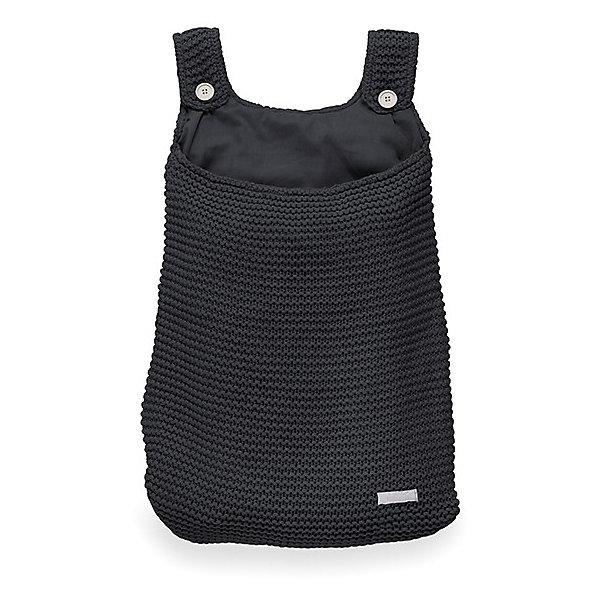 Сумка на кроватку, Jollein, BlackКорзины для игрушек<br>Характеристики:<br><br>• Вид детского текстиля: сумка на детскую кроватку<br>• Предназначение: для хранения детских текстильных принадлежностей<br>• Пол: универсальный<br>• Коллекция: Heavy knit (Крупная вязка)<br>• Цвет: черный<br>• Тематика рисунка: без рисунка<br>• Крепится к кроватке за счет лямок на пуговицах<br>• Универсальный размер, подходит для любых моделей детских кроваток<br>• Материал: 50% хлопок, 50% акрил<br>• Размер: 50*40 см<br>• Особенности ухода: машинная или ручная стирка при температуре не более 30 градусов<br><br>Сумка на кроватку, Jollein, Black от торговой марки Жолляйн, которая является признанным лидером среди аналогичных брендов, выпускающих детское постельное белье и текстиль для новорожденных. Продукция этого торгового бренда отличается высоким качеством и дизайнерским стилем. Сумка на кроватку Jollein, Blue выполнена из вязаного полотна, в состав которого входит хлопок и акрил. Такое сочетание обеспечивает прочность и долговечность изделия: оно не потеряет форму и на нем не будут образовываться катышки даже при частных стирках и длительной эксплуатации. <br><br>Изделие выполнено в форме сумки с двумя лямками на пуговицах, с помощью которых она крепится к бортику кроватки. У сумки имеется подклад. Изделие имеет дизайнерский стиль марки Жолляйн – сдержанный минимализм: однотонное полотно, выполненное крупной вязкой. <br>Сумка на кроватку, Jollein, Black – это не только порядок и уют, это еще и стильный аксессуар для детской комнаты вашего малыша! <br><br>Сумку на кроватку, Jollein, Black можно купить в нашем интернет-магазине.<br><br>Ширина мм: 250<br>Глубина мм: 400<br>Высота мм: 50<br>Вес г: 500<br>Возраст от месяцев: 0<br>Возраст до месяцев: 36<br>Пол: Унисекс<br>Возраст: Детский<br>SKU: 5367096
