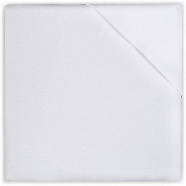 Непромокаемая простыня 40х50 см, Jollein, White
