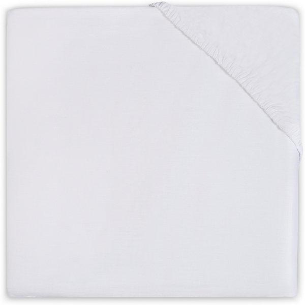Простыня на резинке 70х140 см, Jollein, White