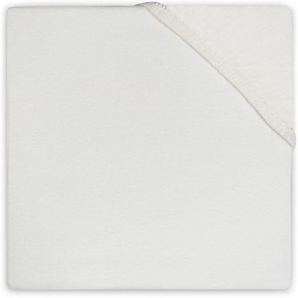 Простыня на резинке 70х140 см, Jollein, Ecru