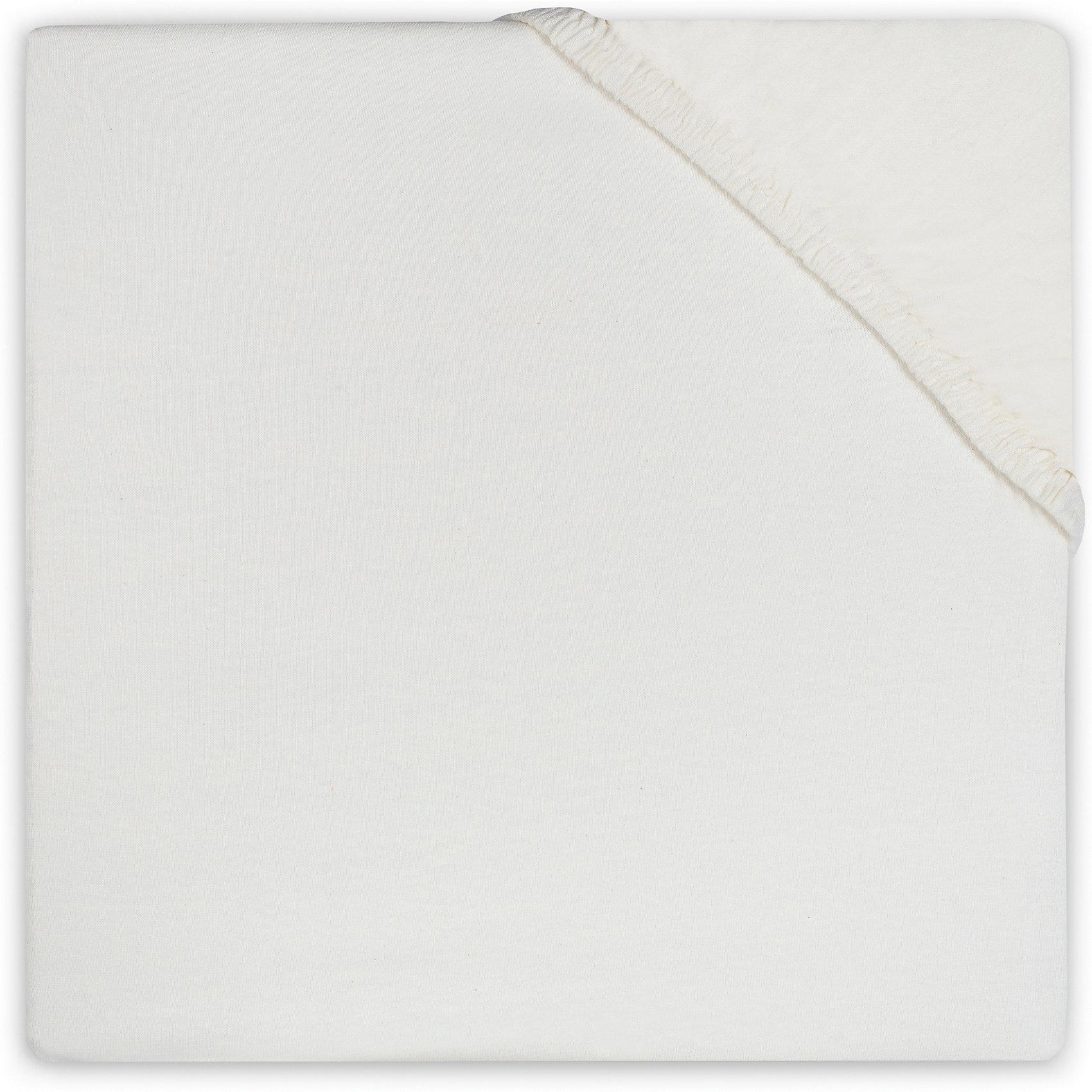 Простыня на резинке 70х140 см, Jollein, EcruПостельное бельё<br>Характеристики:<br><br>• Вид детского текстиля: простыня на резинке<br>• Пол: универсальный<br>• Цвет: экрю<br>• Тематика рисунка: без рисунка<br>• Материал: 100% хлопок <br>• Размер: 70*140 см<br>• Вес: 300 г<br>• Особенности ухода: машинная или ручная стирка при температуре не более 60 градусов<br><br>Простыня на резинке 70х140 см, Jollein, Ecru от торговой марки Жолляйн, которая является признанным лидером среди аналогичных брендов, выпускающих детское постельное белье и текстиль для новорожденных. Продукция этого торгового бренда отличается высоким качеством и дизайнерским стилем. <br><br>Простыня выполнена из натурального хлопка, который обладает высокими гигиеническими и гигроскопическими свойствами. Легко стирается и быстро высыхает. Простыня на резинке плотно и хорошо садится на матрасик, что препятствует ее сбиванию и образованию складок, даже если ребенок спит неспокойно. <br><br>Простынь выполнена в однотонном цвете, поэтому она подойдет к любому комплекту постельного белья. Простыня на резинке 70х140 см, Jollein, Ecru – это стиль и качество для сладких сновидений вашего малыша!<br><br>Простыню на резинке 70х140 см, Jollein, Ecru можно купить в нашем интернет-магазине.<br><br>Ширина мм: 200<br>Глубина мм: 240<br>Высота мм: 30<br>Вес г: 320<br>Возраст от месяцев: 0<br>Возраст до месяцев: 36<br>Пол: Унисекс<br>Возраст: Детский<br>SKU: 5367125
