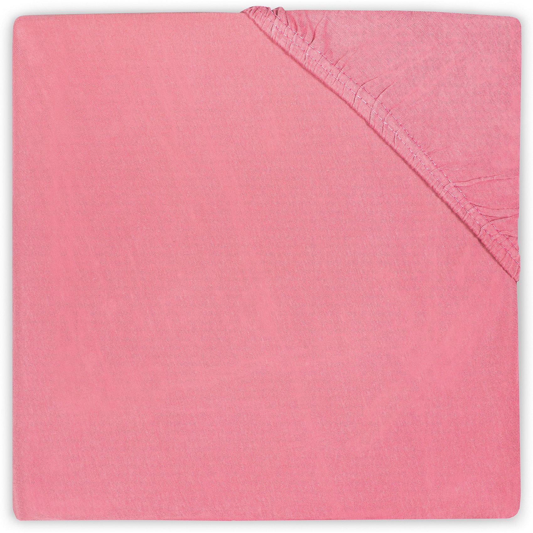 Простыня на резинке 60х120 см, Jollein, RaspberryJollein (Жолляйн) предлагает большой выбор однотонных расцветок простынок, которые можно сочетать с любыми цветами комплектов наволочек и пододеяльников. Однотонные простынки - это не скучно. Подбирая цвет простынки, можно создать идеальный цветовой ансамбль детской кроватки. Такие простынки могут сдержанно поддержать основную цветовую идею интерьера детской комнаты, либо же наоборот - стать стильным цветовым акцентом в минималистичном интерьере. Создавайте стильные комплекты в Вашем стиле. Мягкое, приятное для тела, тонкое джерси &amp;ldquo;дышит&amp;rdquo;, регулирует температуру тела. Плотность: 140 гр/мкв. Стирать при 40-60 градусах<br><br>Ширина мм: 190<br>Глубина мм: 230<br>Высота мм: 30<br>Вес г: 270<br>Возраст от месяцев: 0<br>Возраст до месяцев: 36<br>Пол: Унисекс<br>Возраст: Детский<br>SKU: 5367127